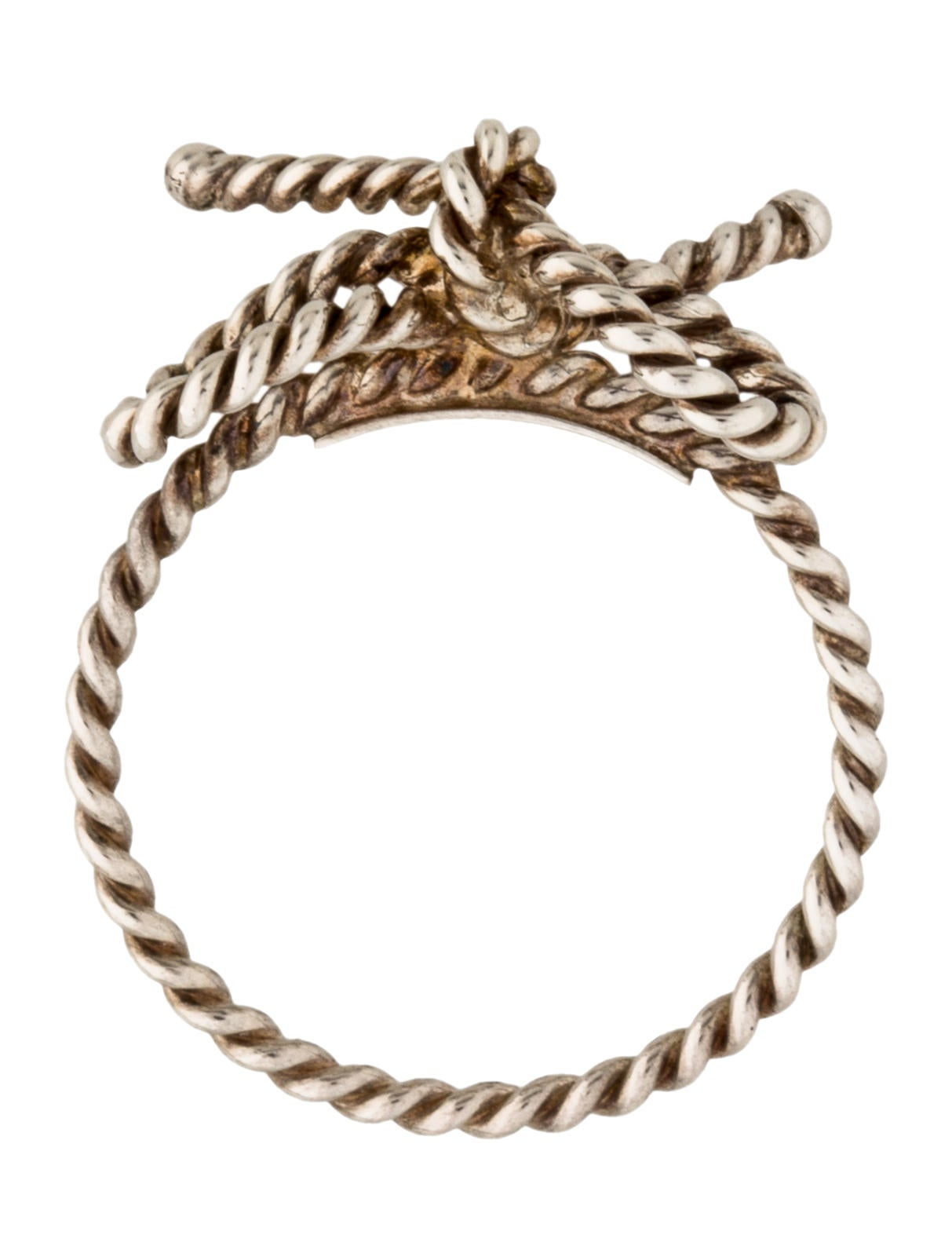 Tiffany And Co Twist Ring