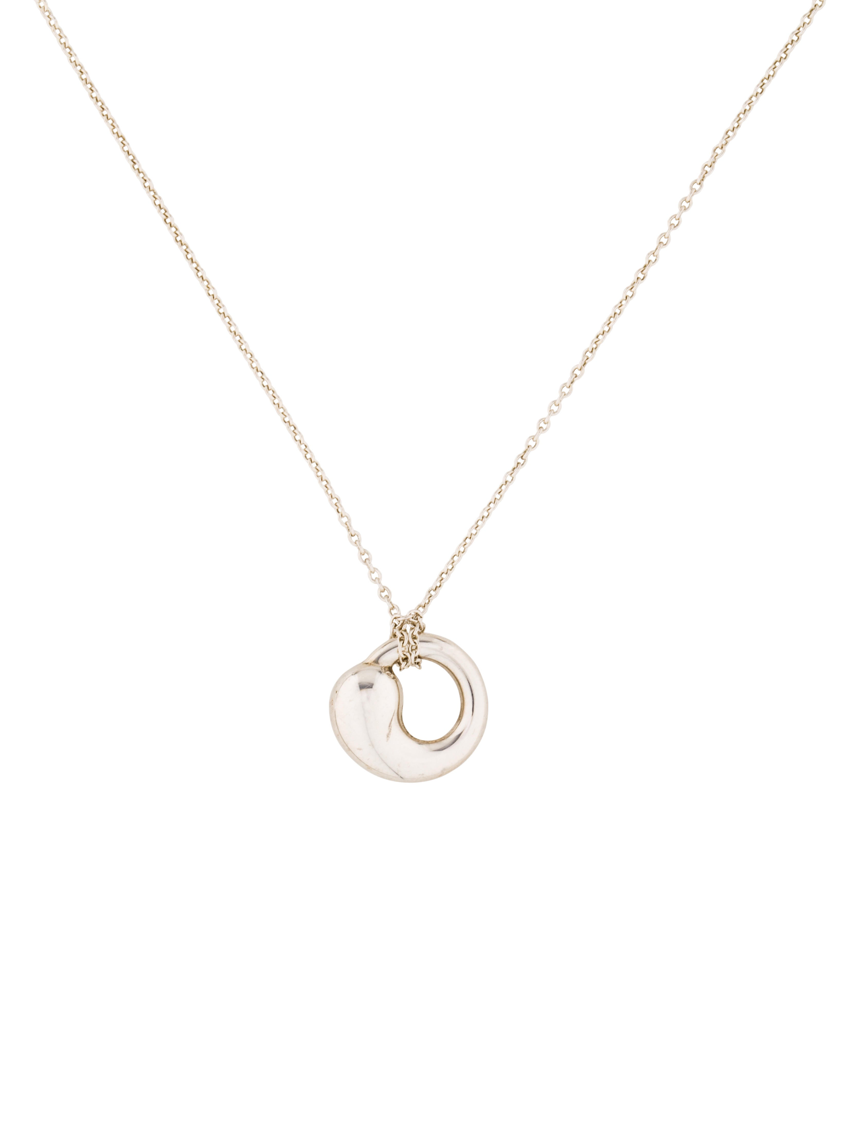 Tiffany co eternal circle pendant necklace necklaces tif57823 eternal circle pendant necklace mozeypictures Image collections