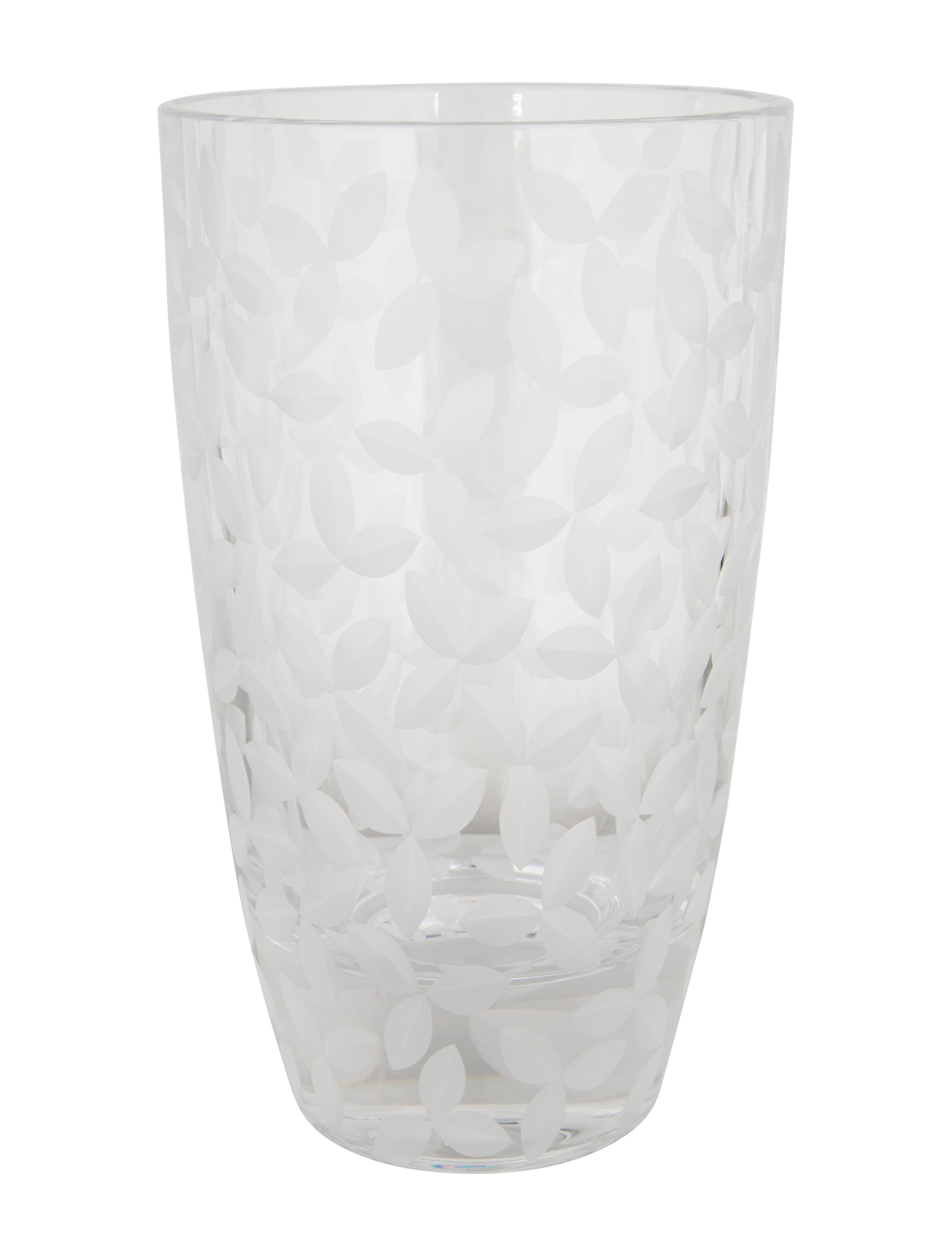 Tiffany co tiffany co frosted leaf vase decor and tiffany co frosted leaf vase reviewsmspy