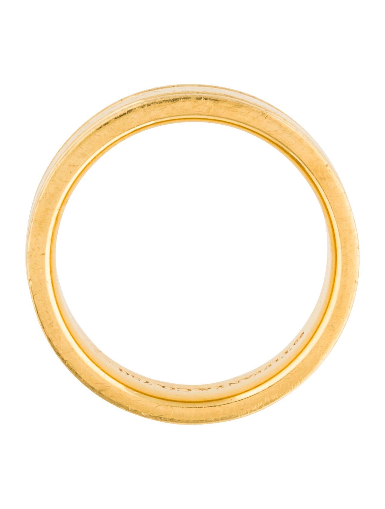 tiffany co flat double milgrain wedding band rings tif58064
