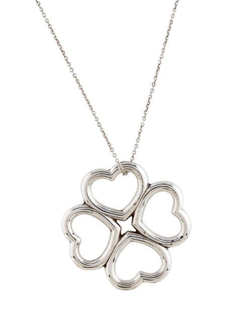 90975fca2 Tiffany & Co. Four Hearts Clover Pendant Necklace - Necklaces ...