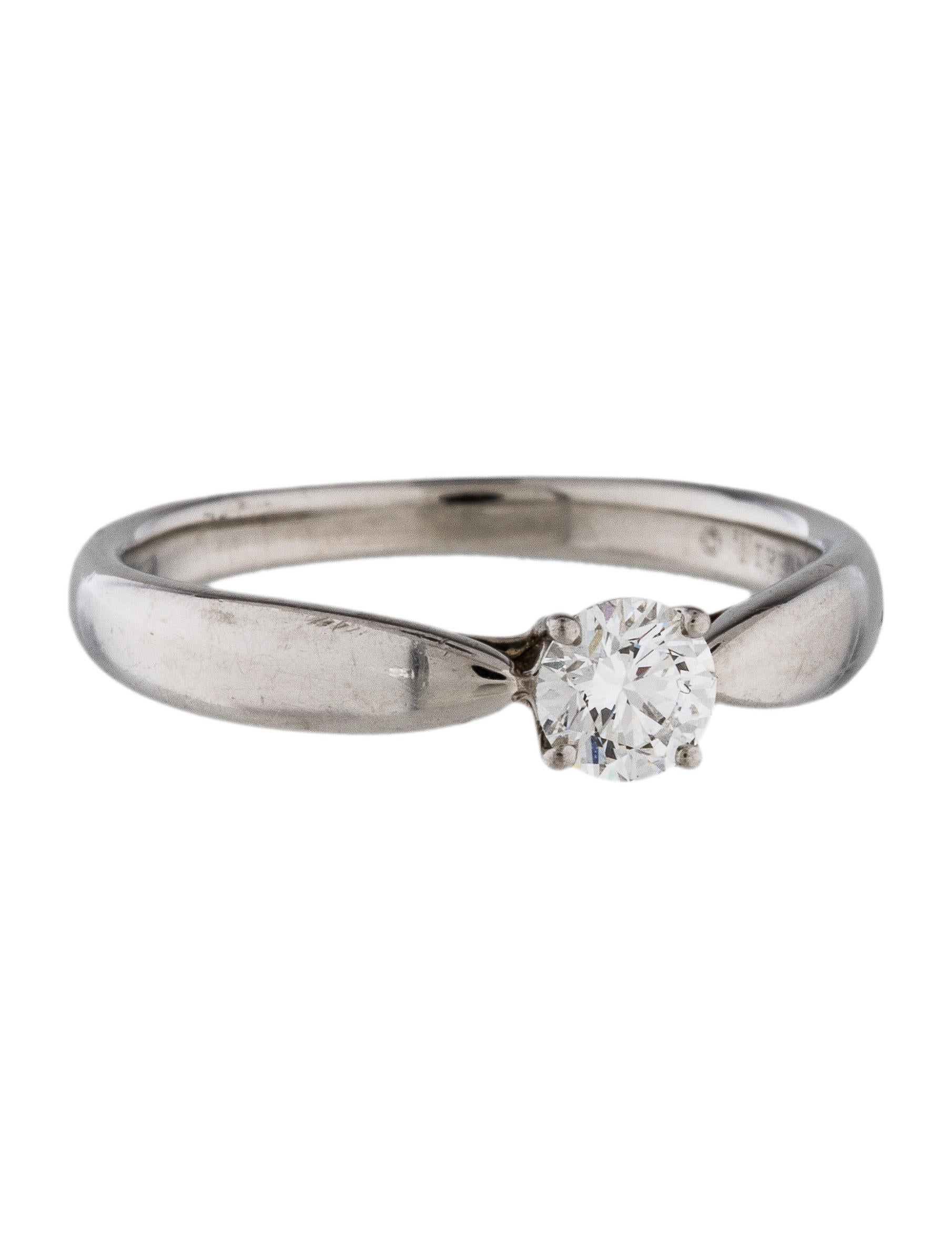 tiffany amp co platinum diamond engagement ring rings