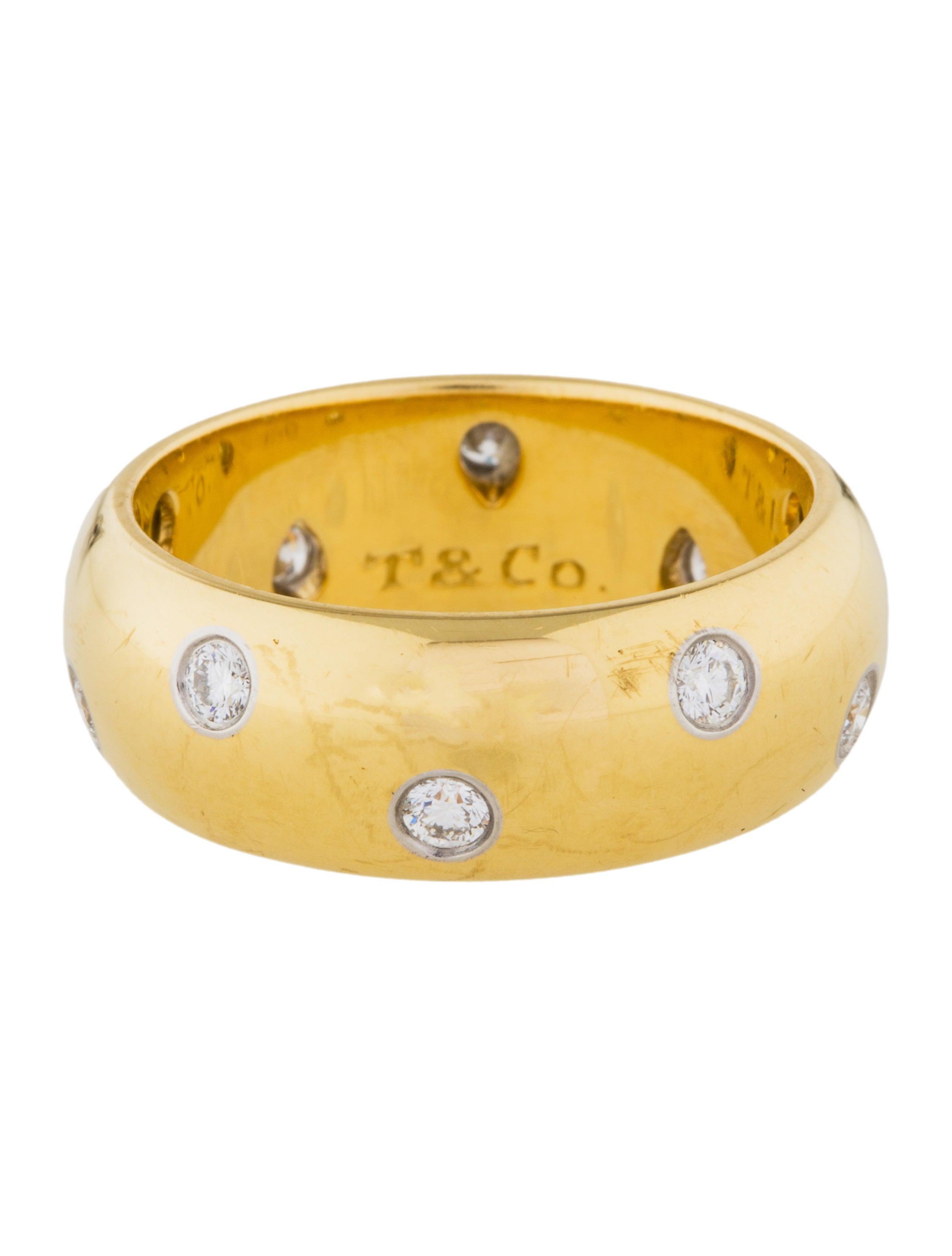 Tiffany Amp Co Etoile Band Rings Tif58355 The Realreal