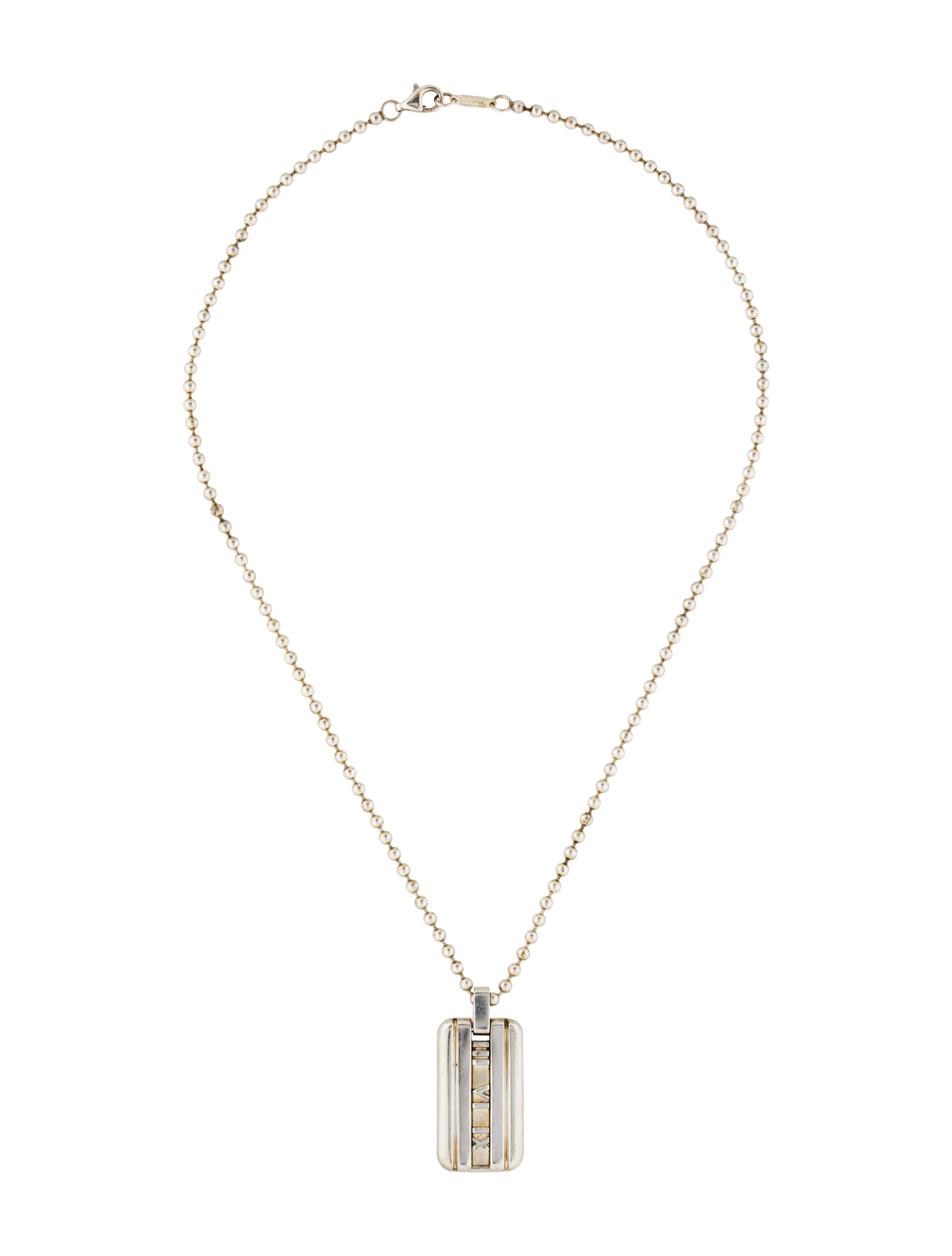 co atlas tag pendant necklace necklaces