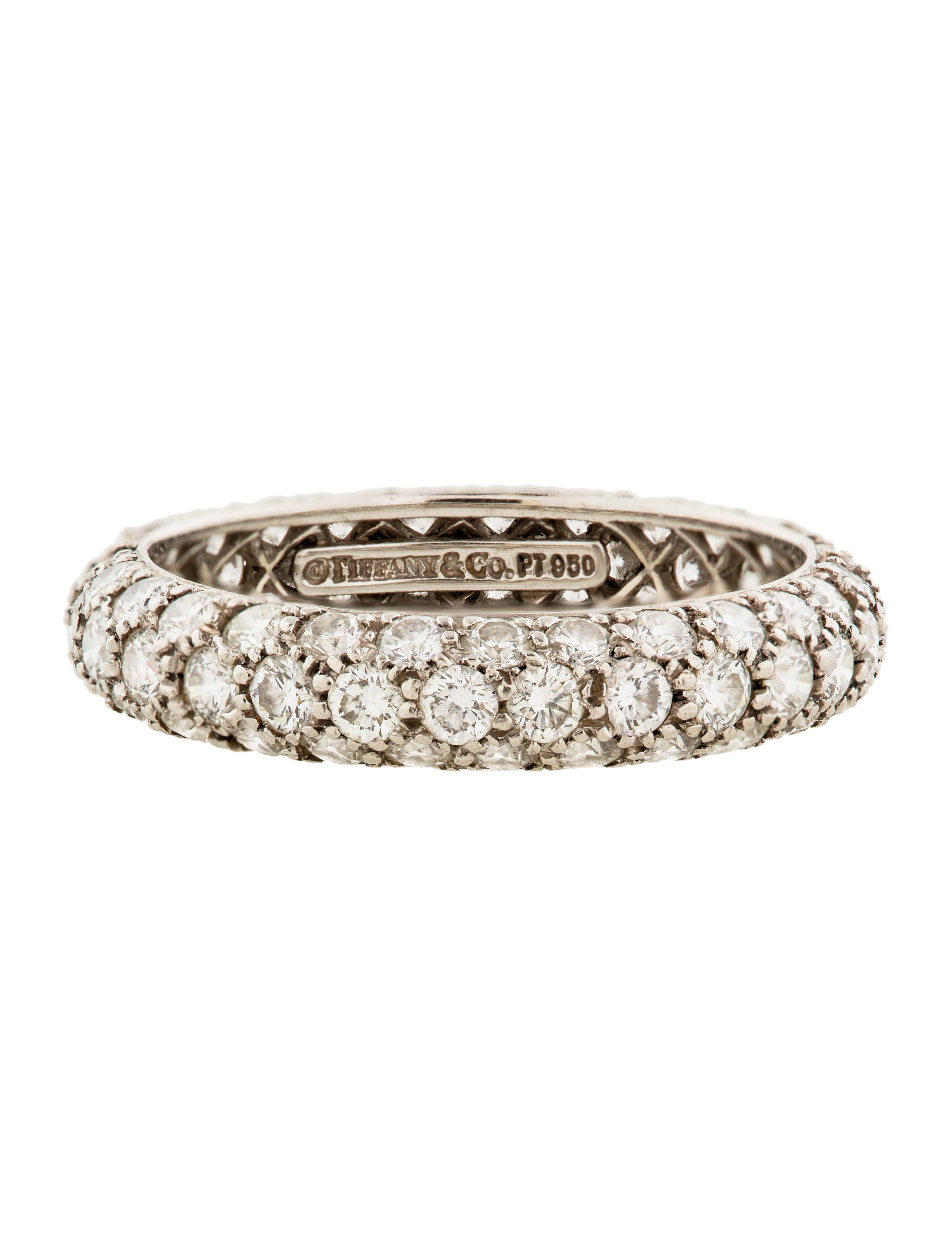 Tiffany Diamond Eternity Ring Signature Collection