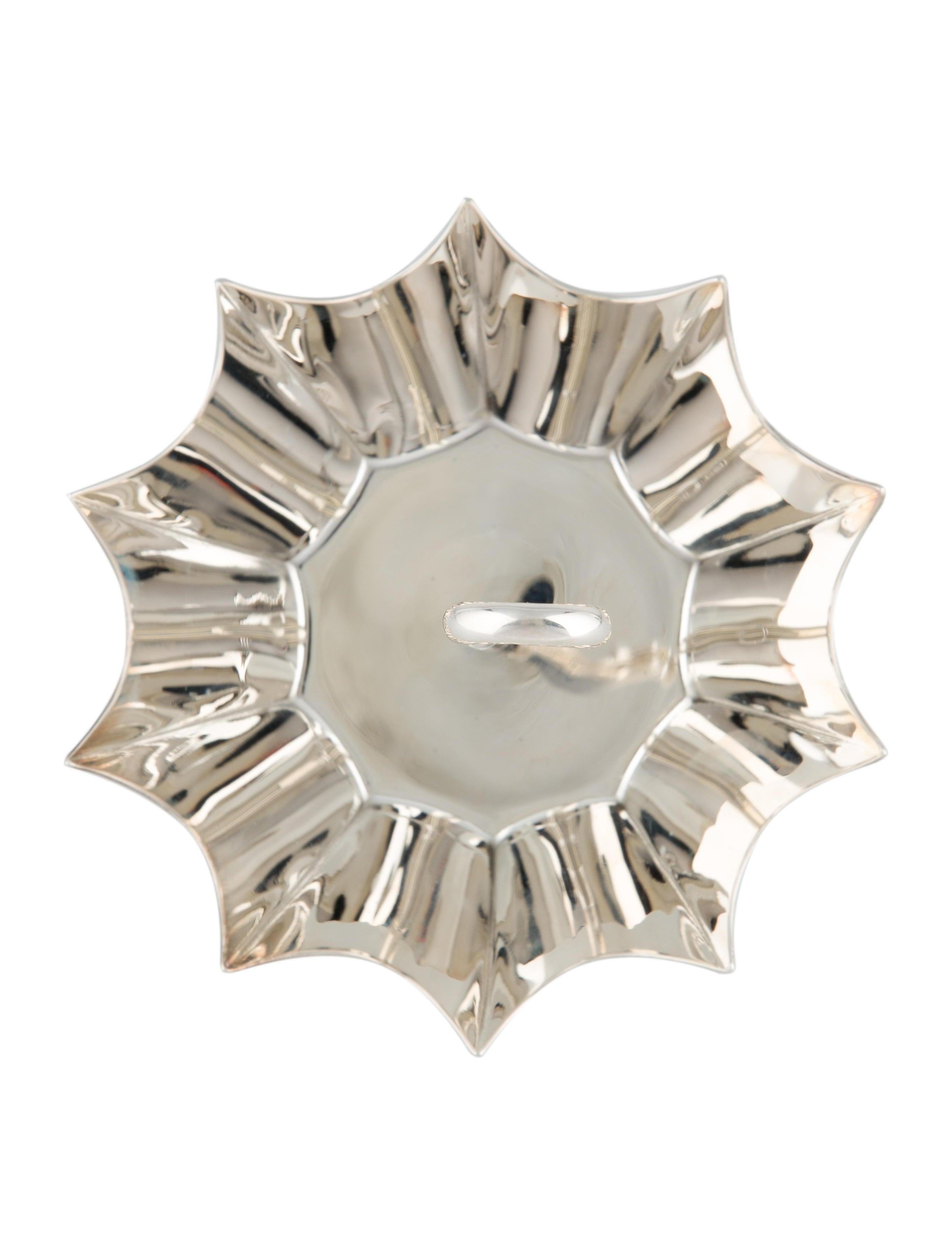 Tiffany co umbrella dish in sterling silver decor and for Artistic accents genuine silver decoration