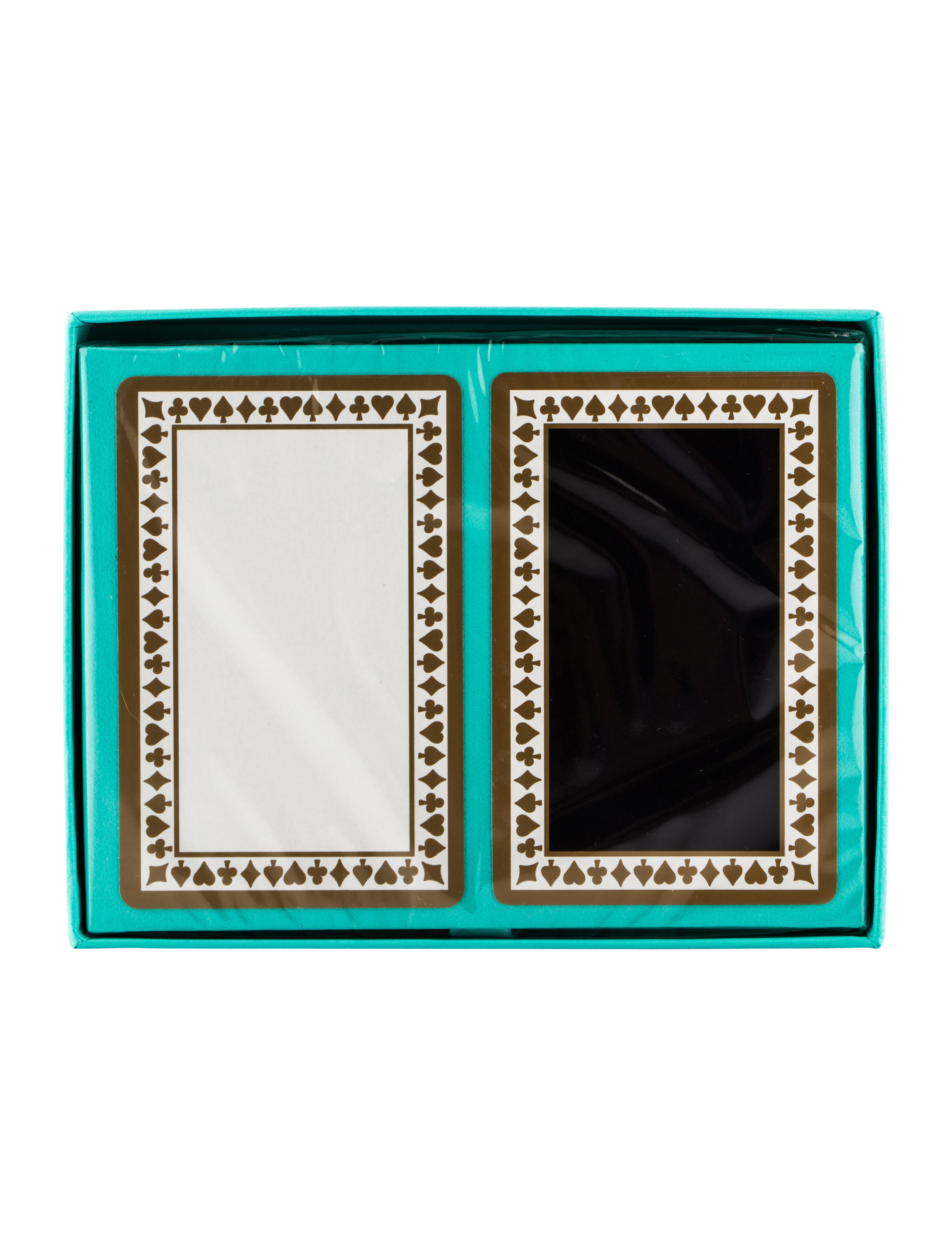 Tiffany Co Playing Cards Set Decor And Accessories
