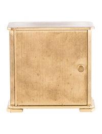 Tiffany & Co. Mid-Century Modern Brass Desk Clock - Decor ...