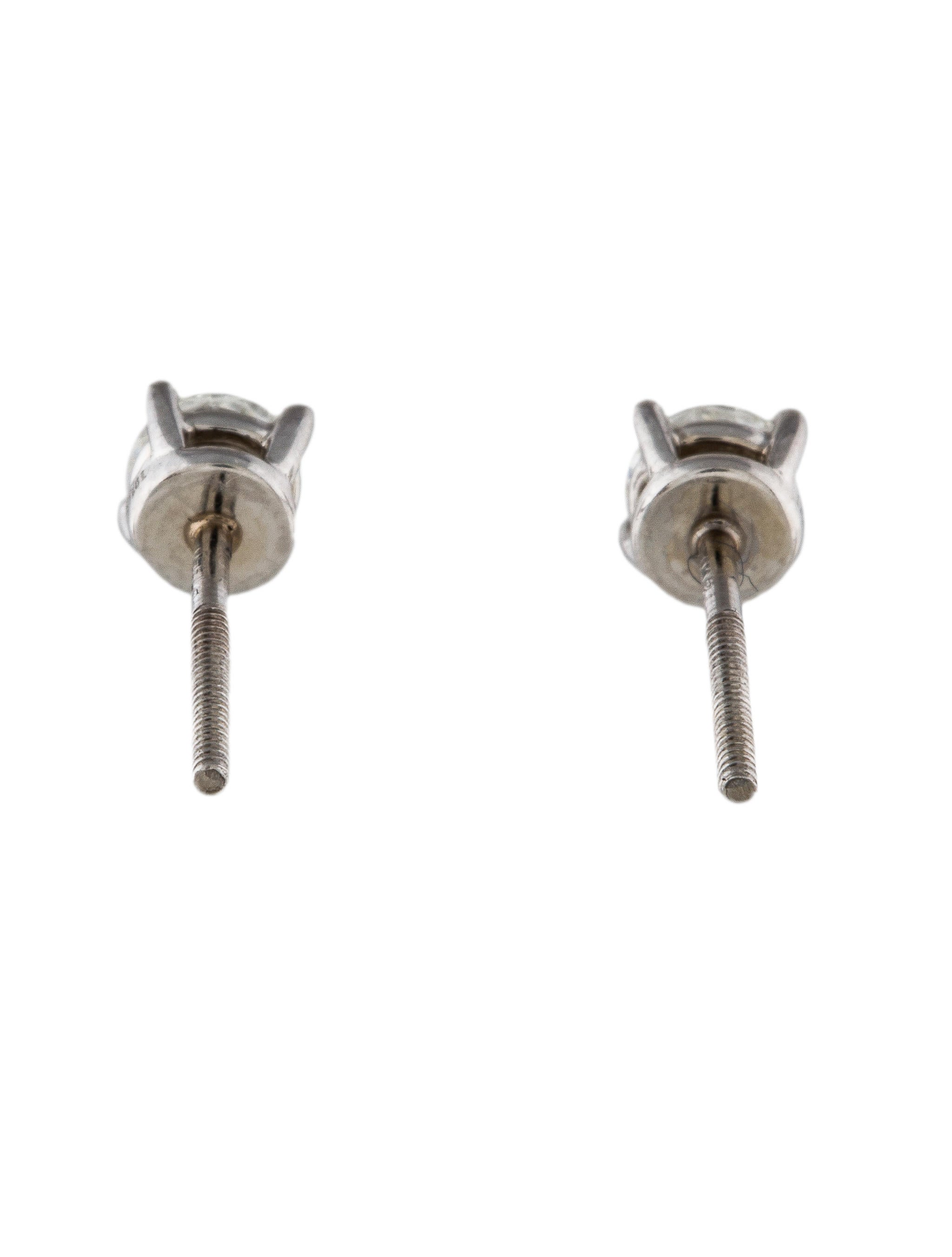 how to clean platinum diamond earrings