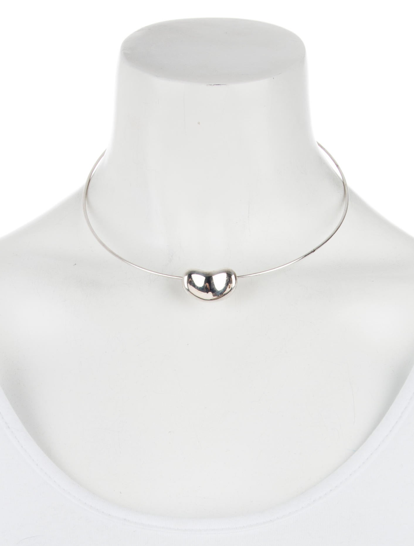 Tiffany & Co. Bean Wire Collar Necklace - Necklaces - TIF61314 | The ...