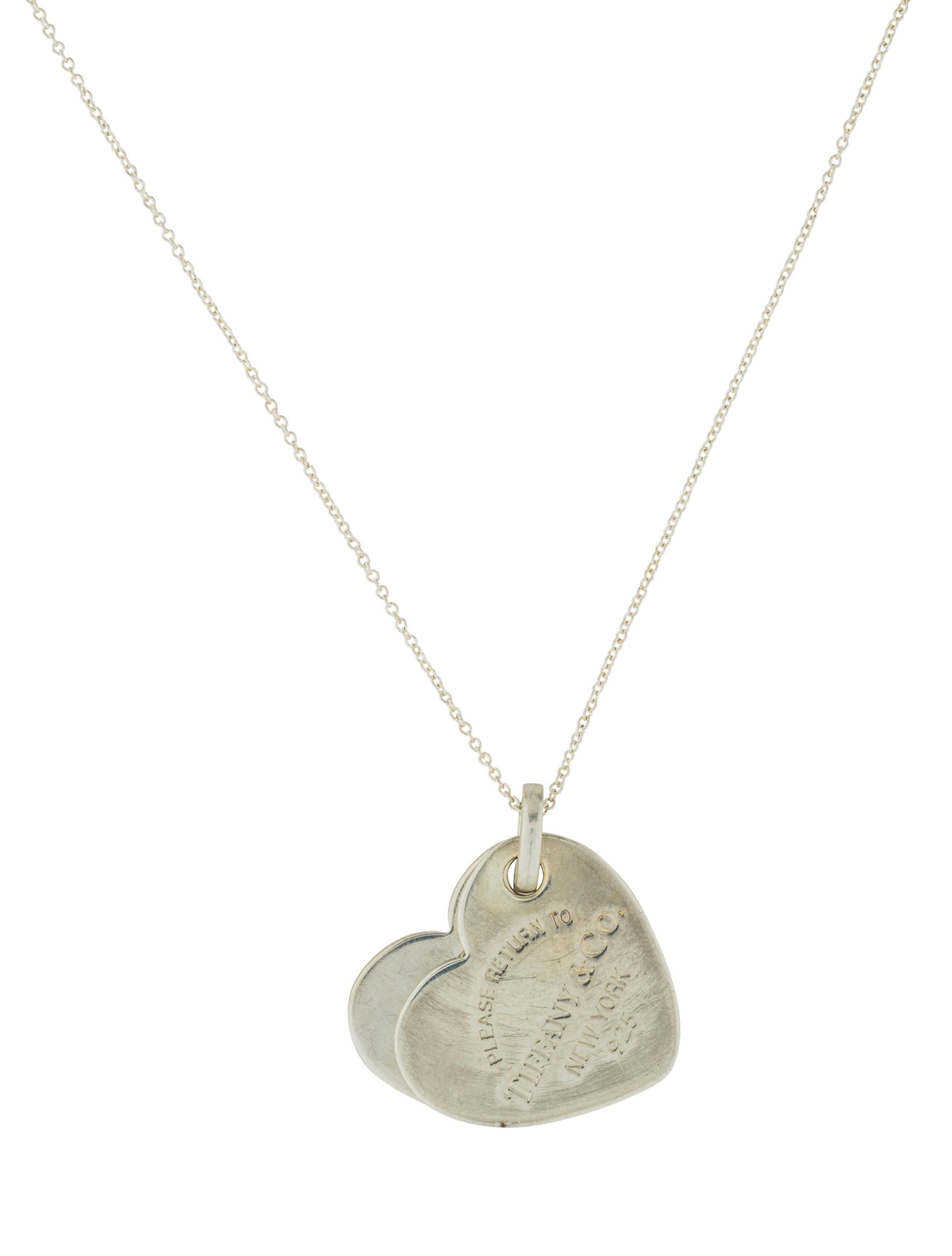 Tiffany co return to tiffany double heart pendant necklace return to tiffany double heart pendant necklace aloadofball Choice Image