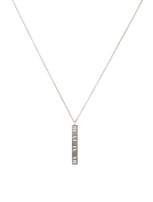 c420beb1a Tiffany & Co. Atlas Pierced Bar Pendant Necklace - Necklaces ...