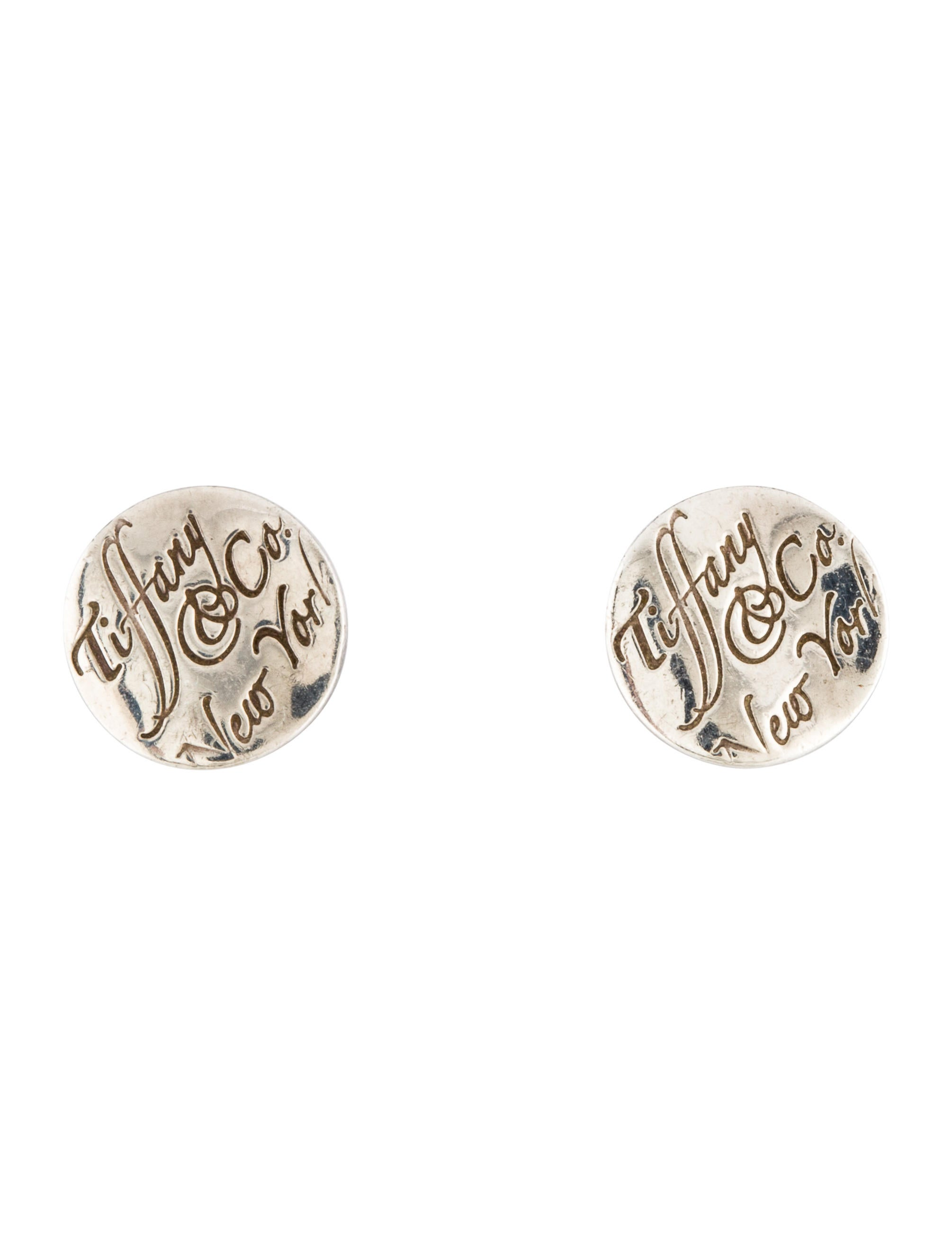 b83ed4271 Tiffany & Co. Tiffany Notes Stud Earrings - Earrings - TIF63443 ...