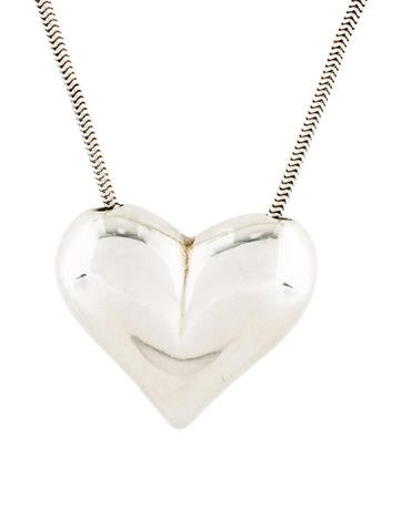 Tiffany co jewelry the realreal tiffany co heart pendant necklace audiocablefo light Images