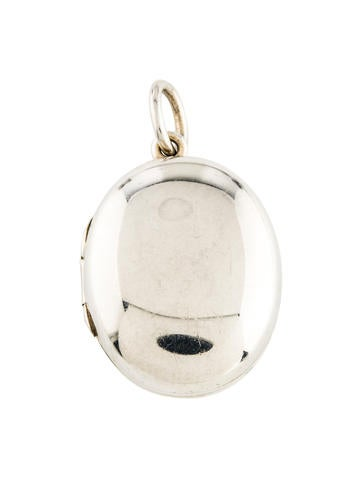 Tiffany & Co. Oval Locket Pendant None