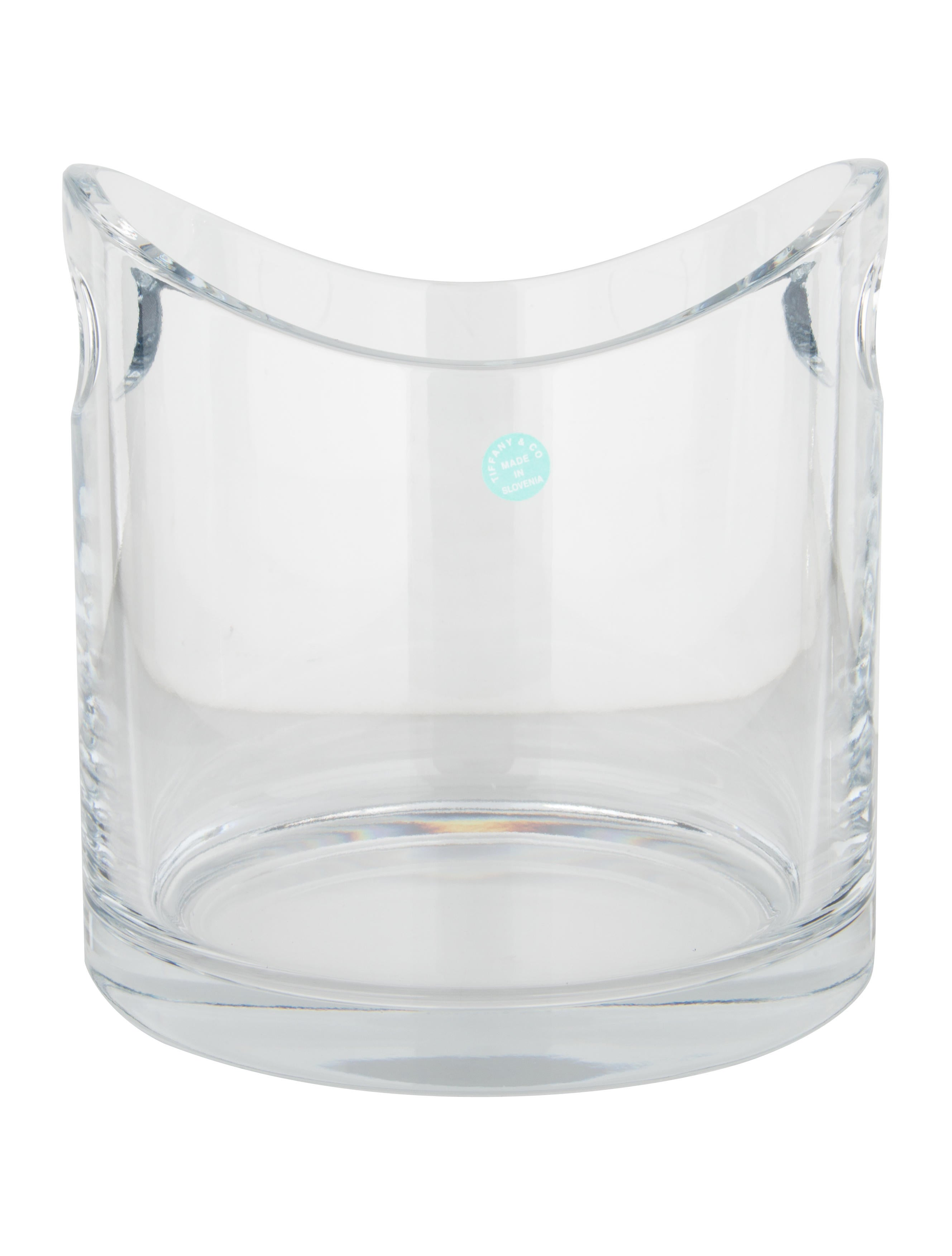 Tiffany co crystal ice bucket tabletop and kitchen tif65309 crystal ice bucket reviewsmspy