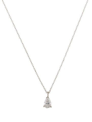 Tiffany co elsa peretti letter j pendant necklace necklaces product nametiffany co platinum diamond solitaire pendant necklace aloadofball Image collections