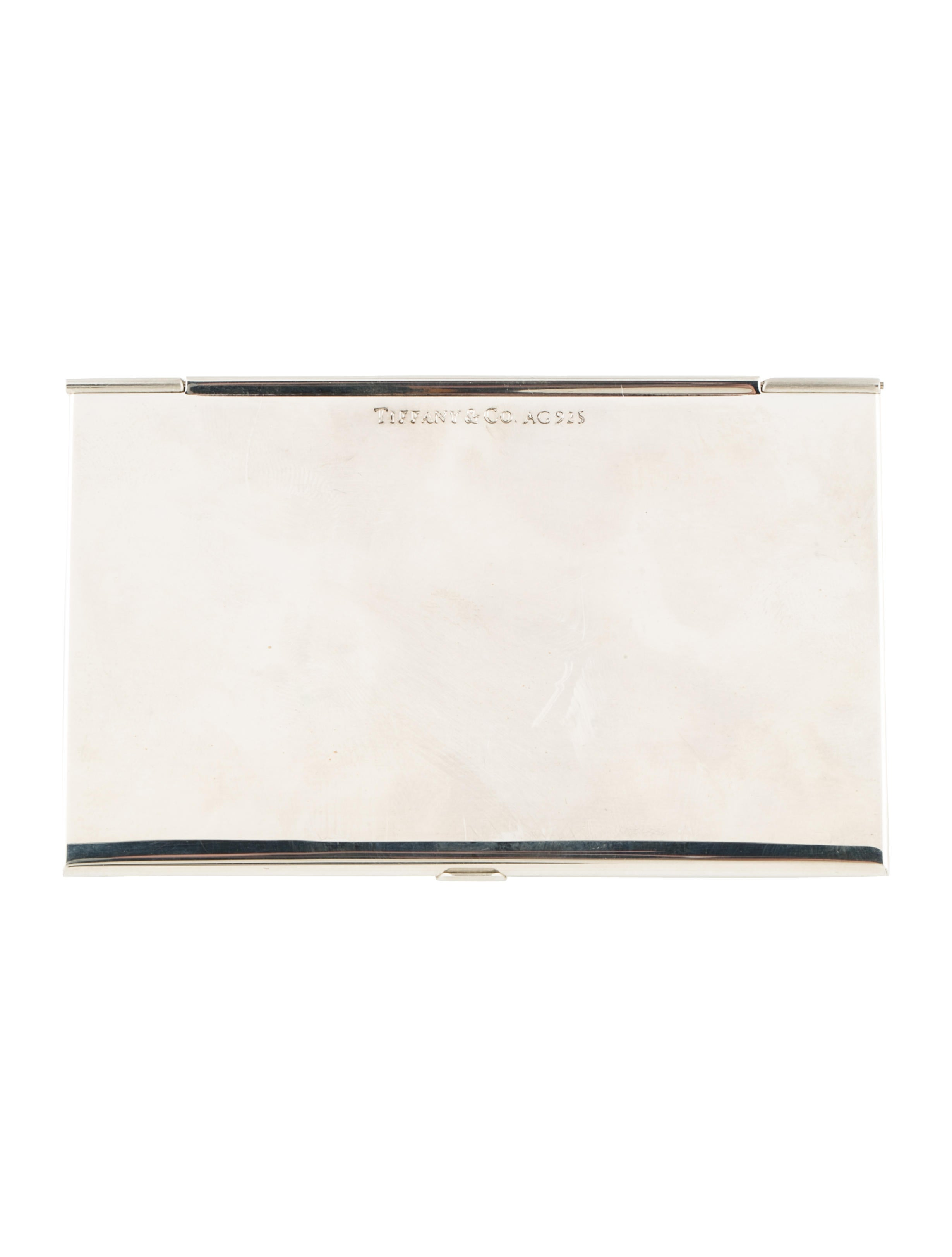 Tiffany & Co. Sterling Business Card Holder - Accessories - TIF65476 ...