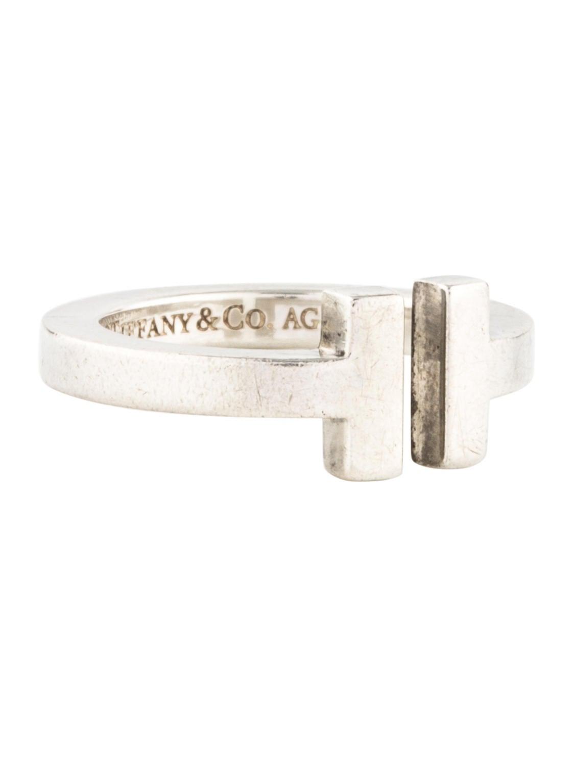 Tiffany & Co. Tiffany T Square Ring - Rings - TIF65750 | The RealReal