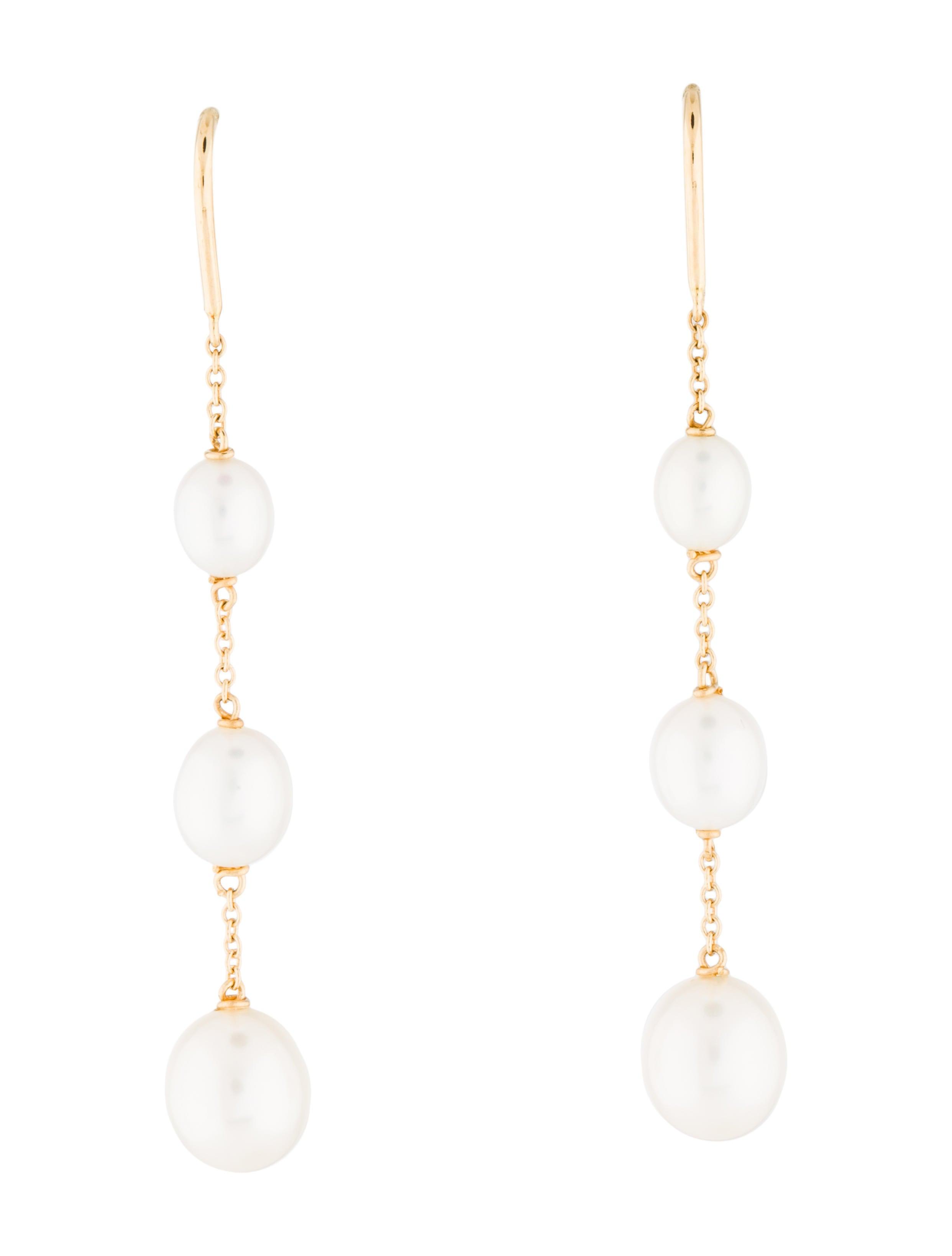 efe88da904ff4 Pearls By The Yard Chain Earrings