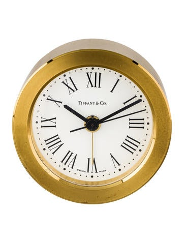 Tiffany & Co. Round Alarm Clock None