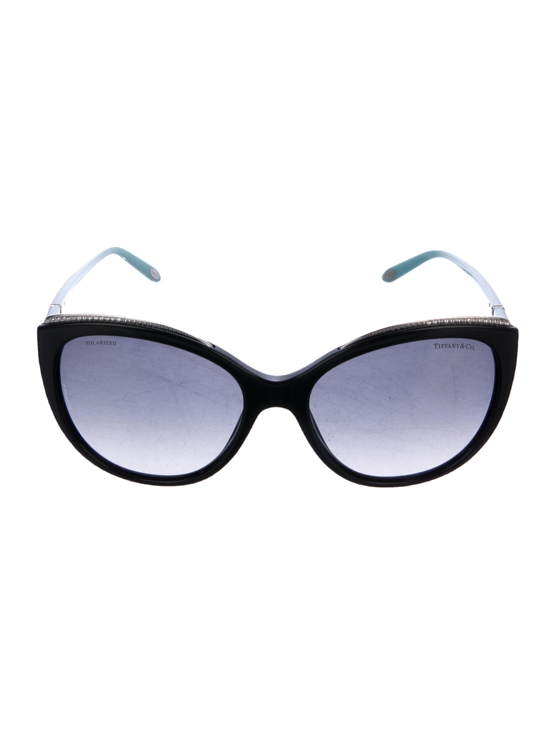 2e6420438a Tiffany   Co. Crystal-Embellished Cat-Eye Sunglasses - Accessories ...
