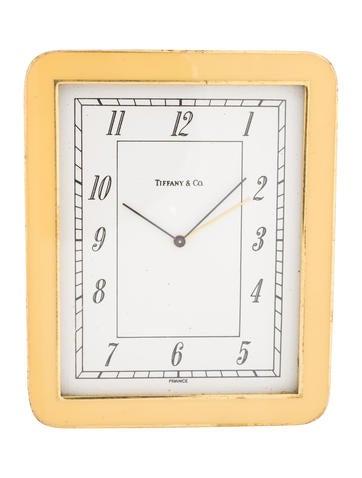 Tiffany & Co. Enamel Travel Clock None