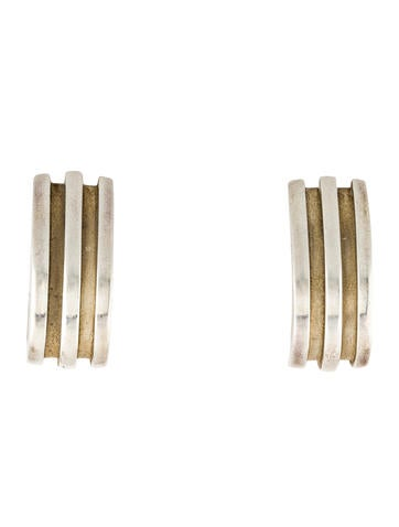 Tiffany & Co. Ribbed Clip-On Earrings None