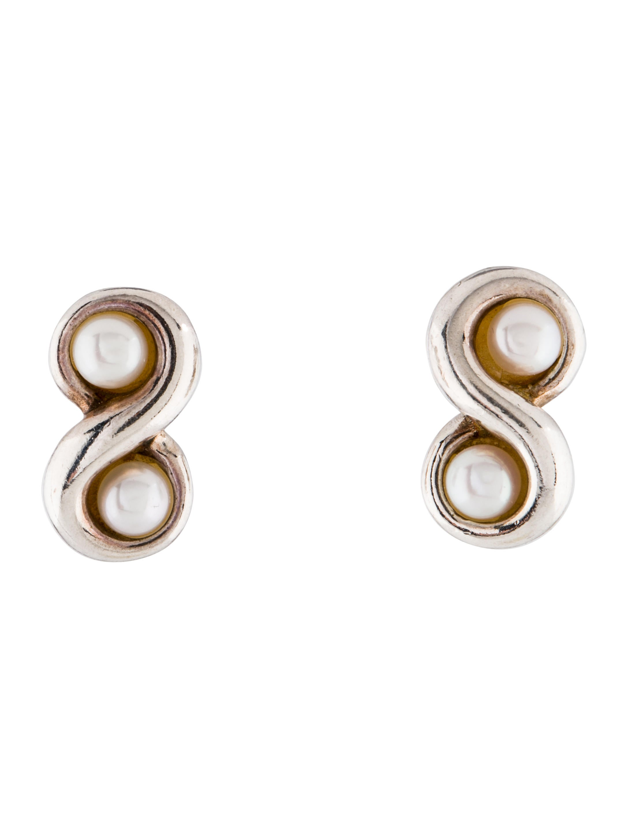 infinity earring post products earrings norbu nsc