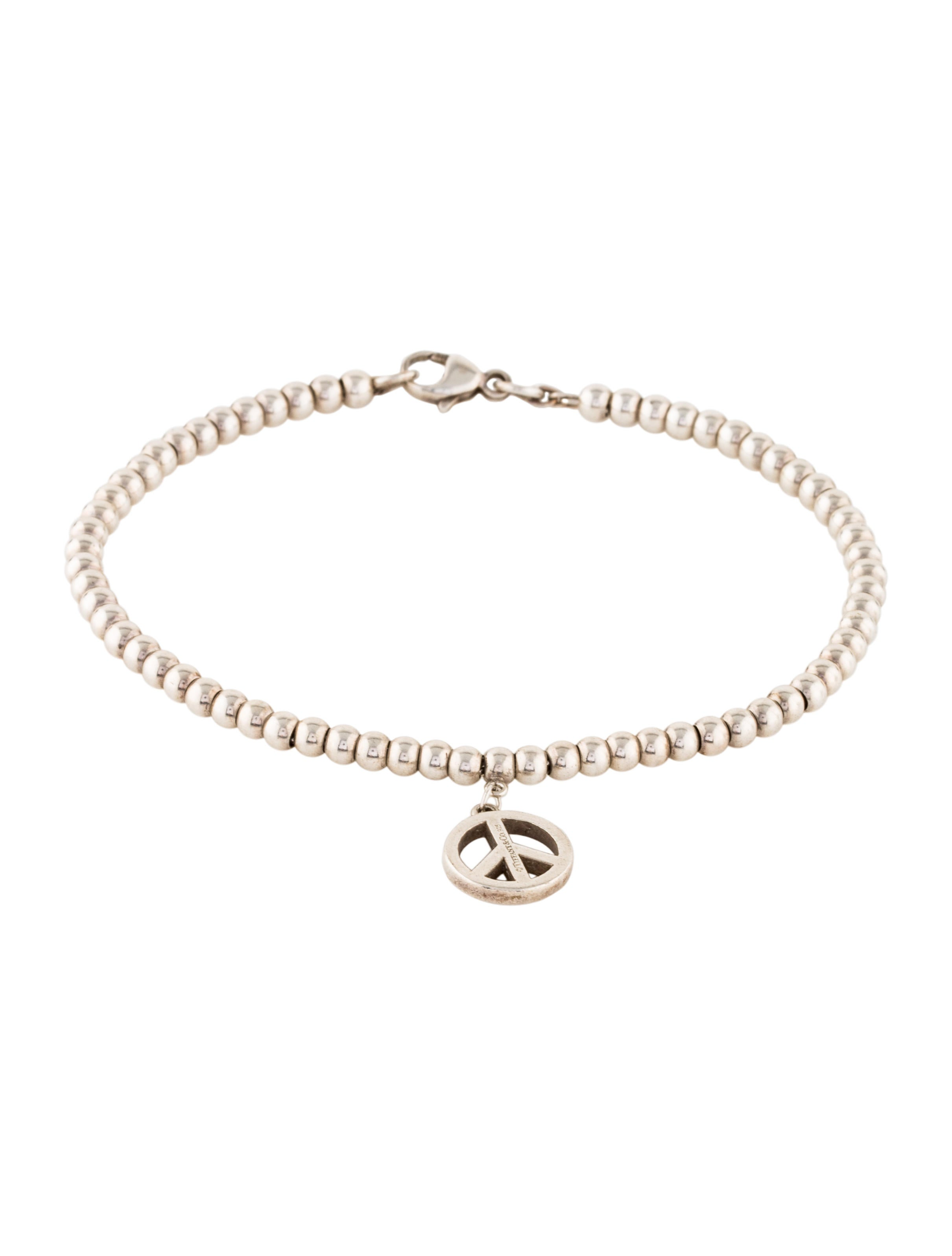 heart shop expandable edit charm product brook bracelet black of sign bangle peace infinity