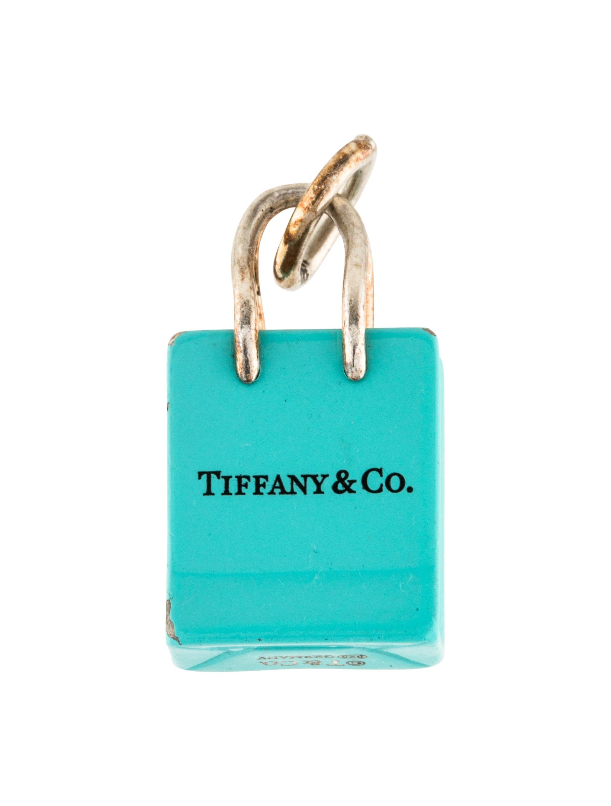56d754f695 Tiffany & Co. Shopping Bag Charm - Charms - TIF66921 | The RealReal