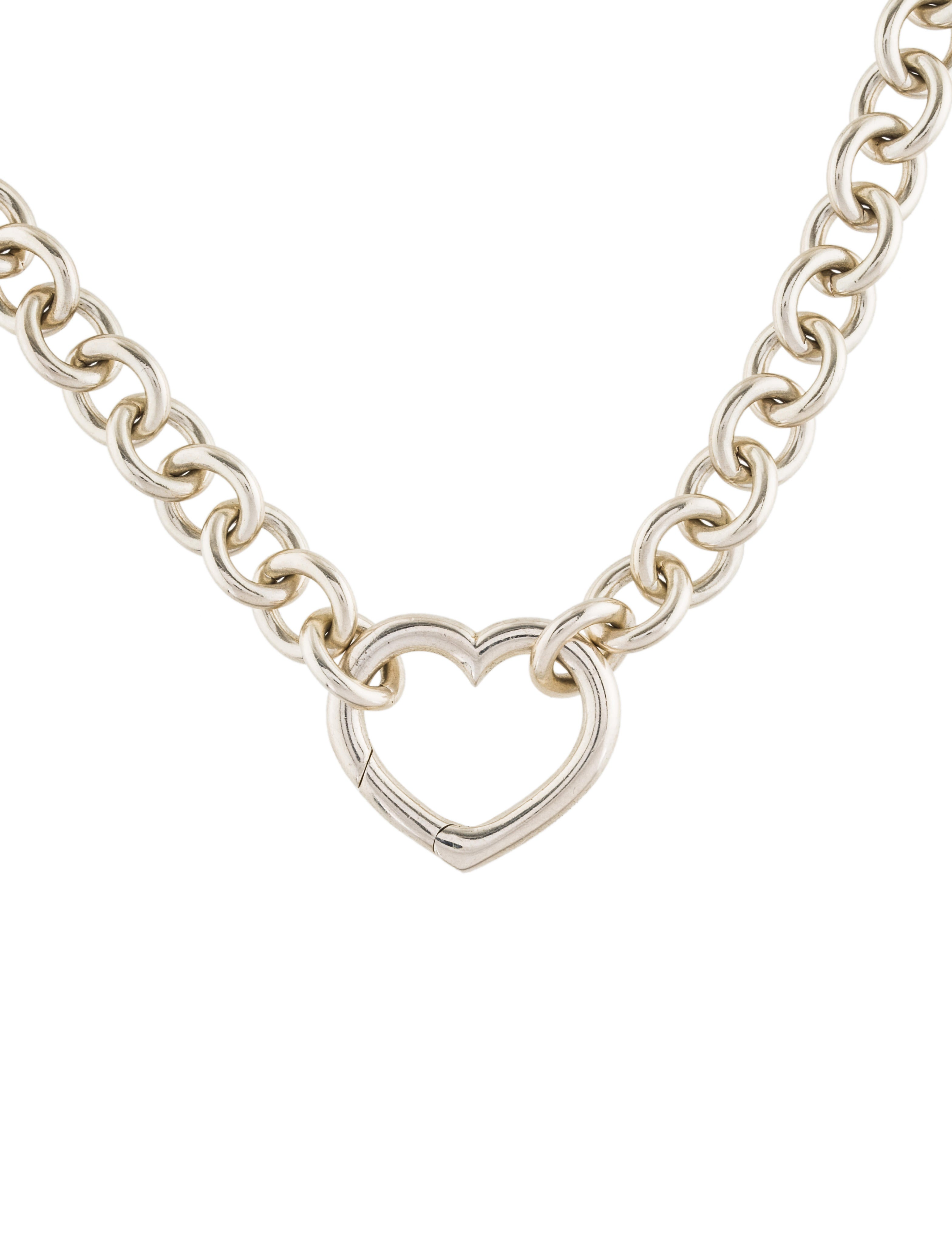 open heart diamond necklace products