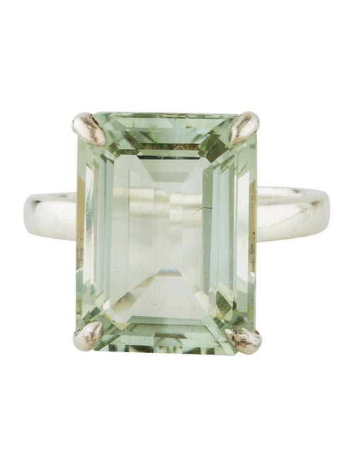 698bef2b6 Tiffany & Co. Green Quartz Sparklers Cocktail Ring - Rings ...