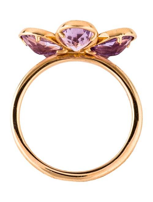 24049313a Tiffany & Co. Amethyst & Diamond Sparklers Flower Ring - Rings ...