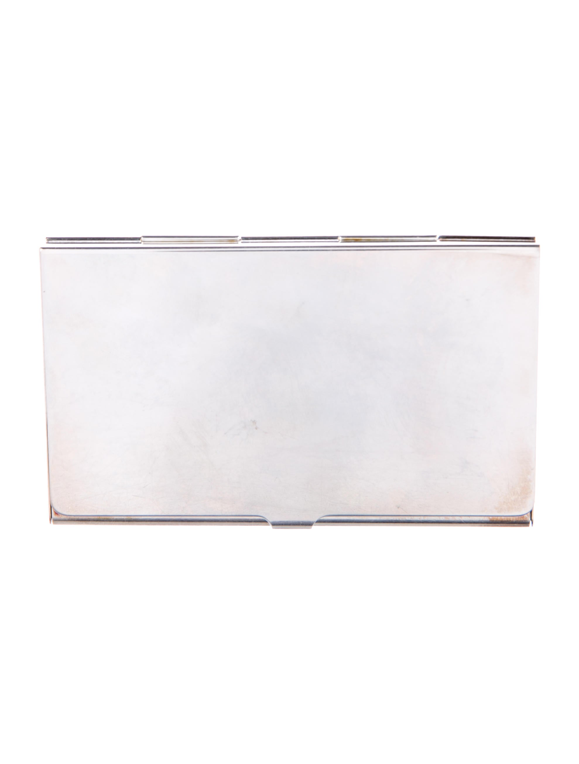 Tiffany & Co. Sterling Business Card Holder - Accessories - TIF68841 ...