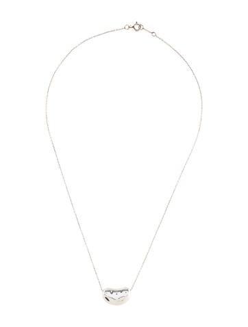 Bean Pendant Necklace