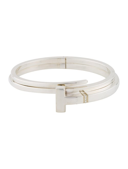 ccb08cf16 Tiffany & Co. T Square Wrap Bangle - Bracelets - TIF71188 | The RealReal
