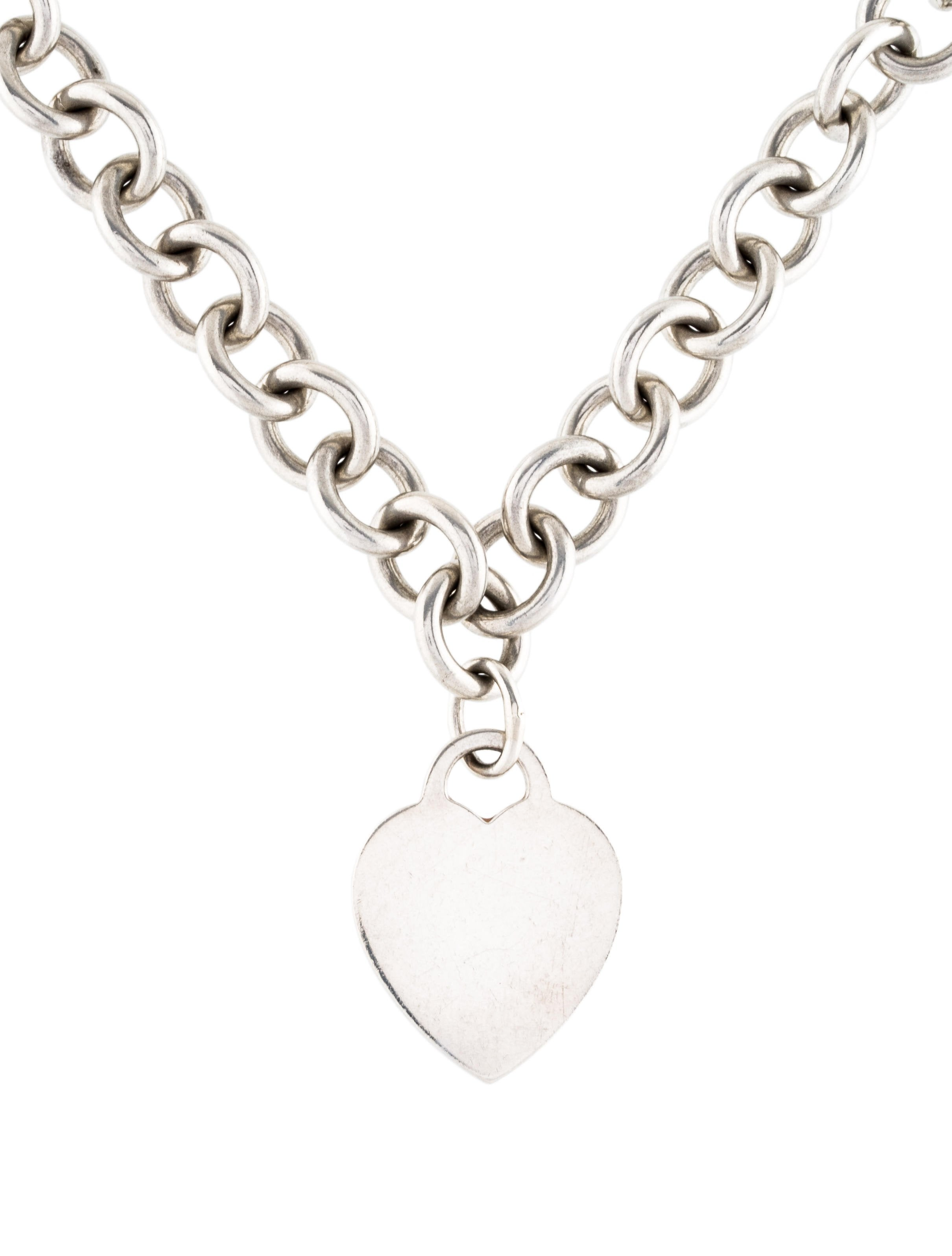 Tiffany co heart tag pendant necklace necklaces tif72922 heart tag pendant necklace aloadofball Image collections