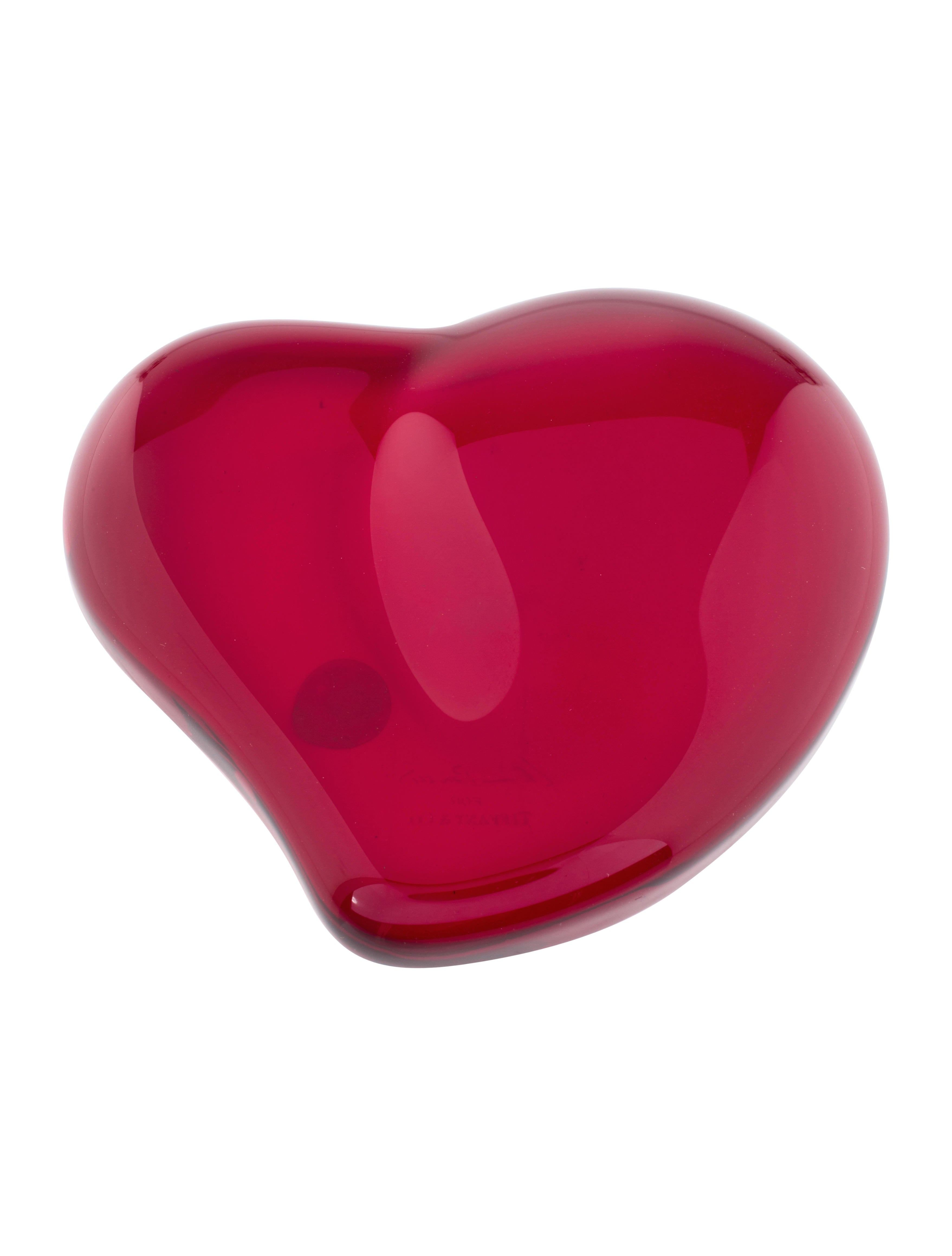 f7331adfcab9 Tiffany & Co. Elsa Peretti Heart Paperweight - Decor & Accessories ...