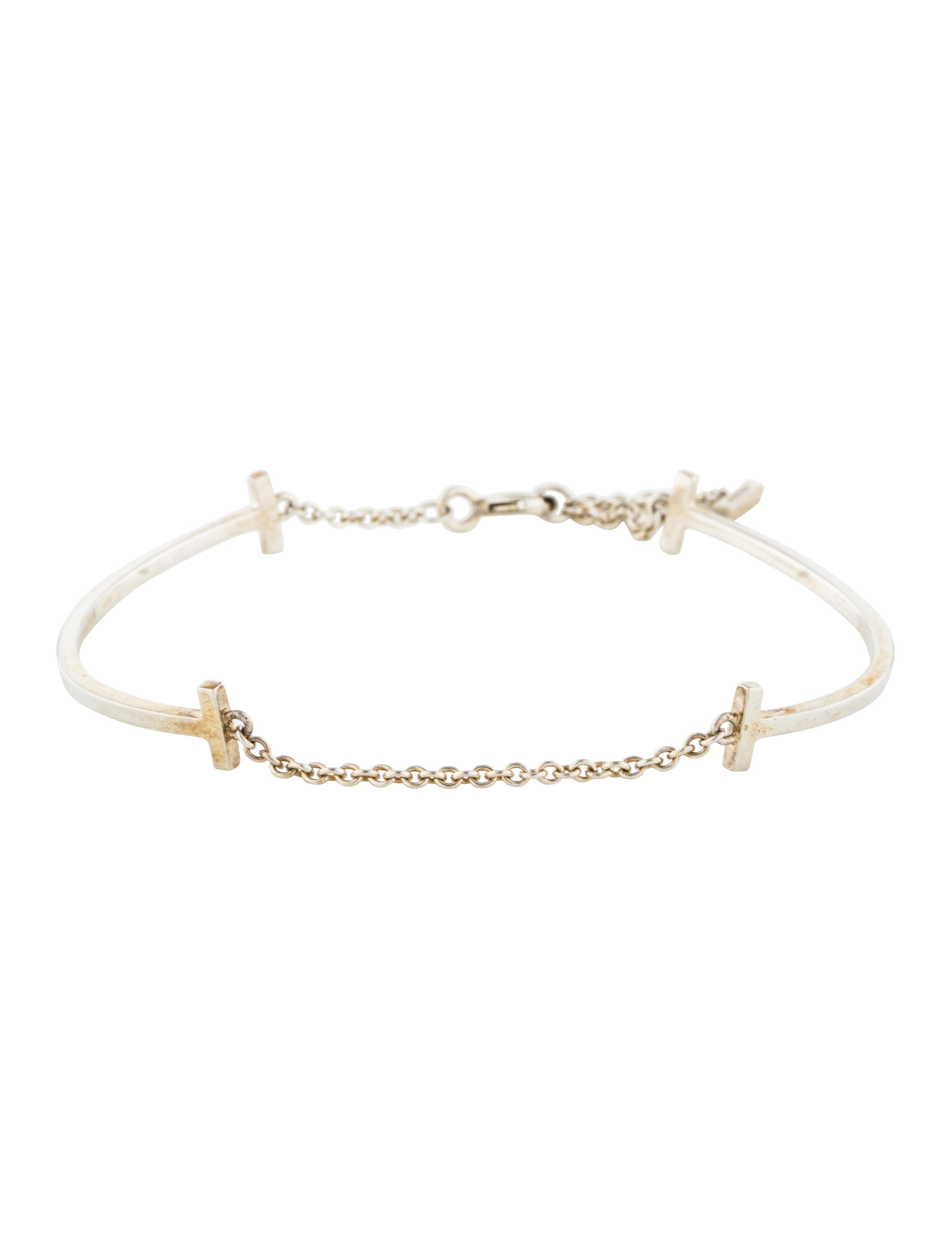 97559d723 Tiffany & Co. Double Smile Bracelet - Bracelets - TIF74157 | The ...