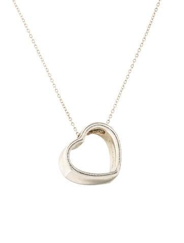 Tiffany co heart pendant necklace necklaces tif74306 the heart pendant necklace aloadofball Choice Image