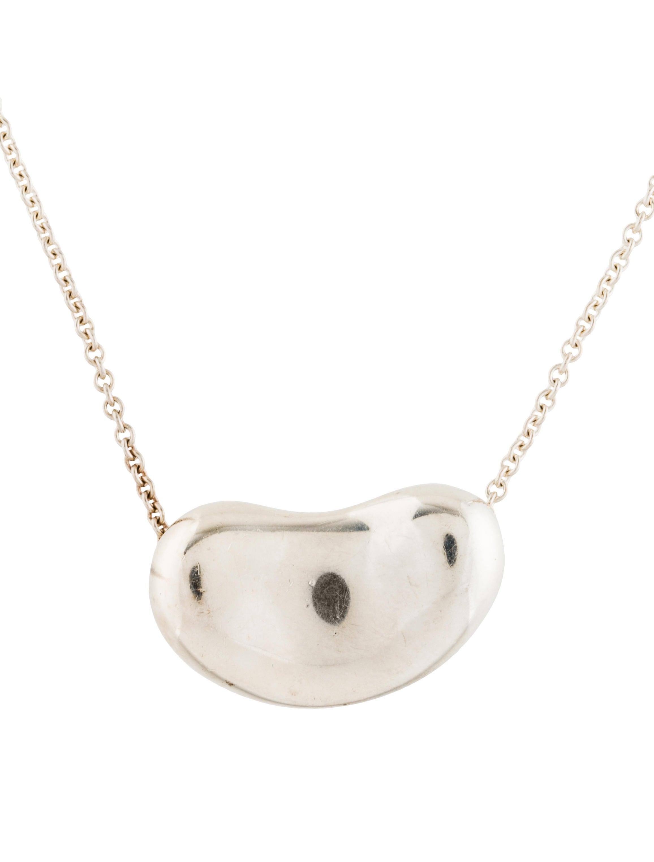 Tiffany co bean pendant necklace necklaces tif74317 the bean pendant necklace aloadofball Choice Image