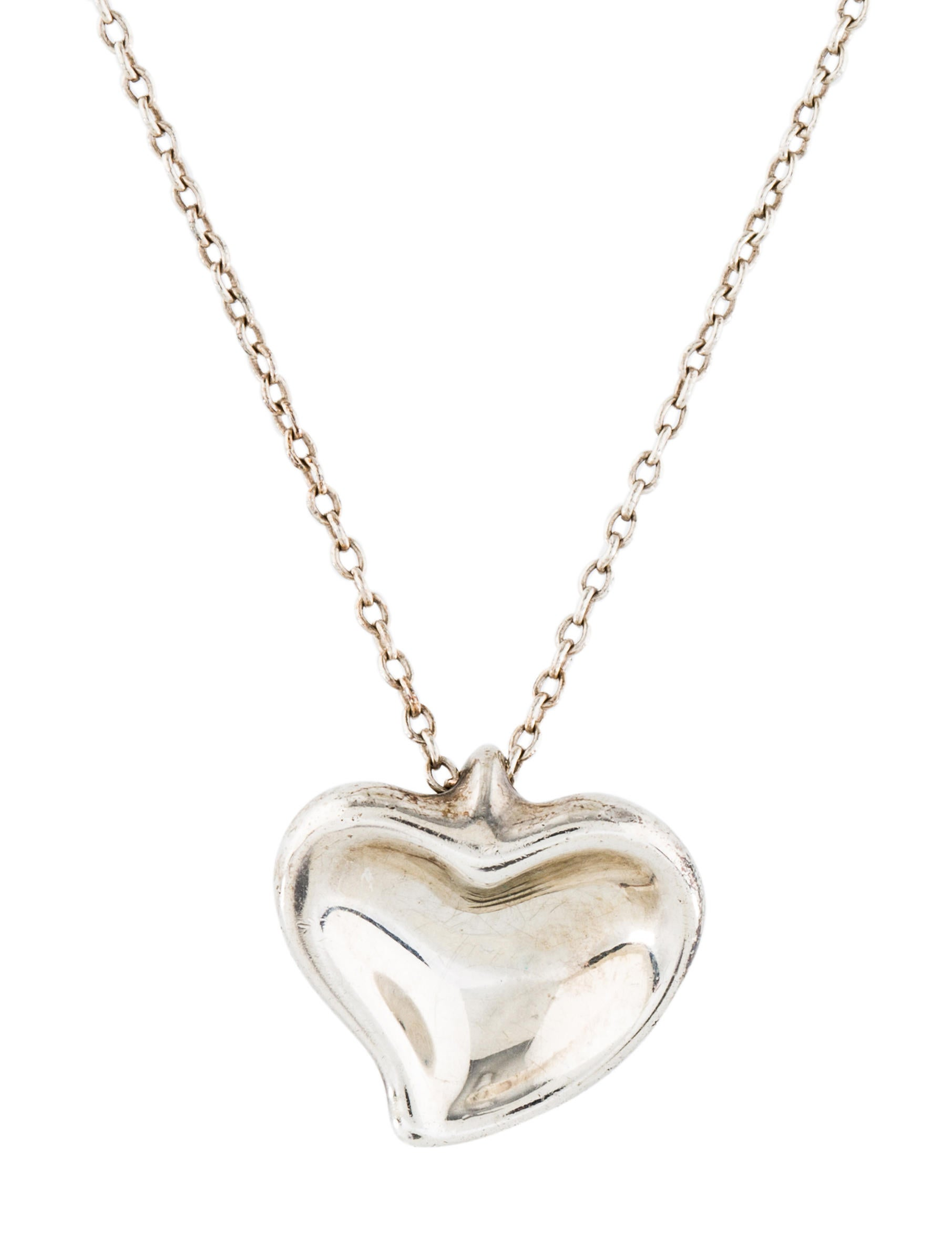 Tiffany co heart pendant necklace necklaces tif76319 the heart pendant necklace aloadofball Gallery