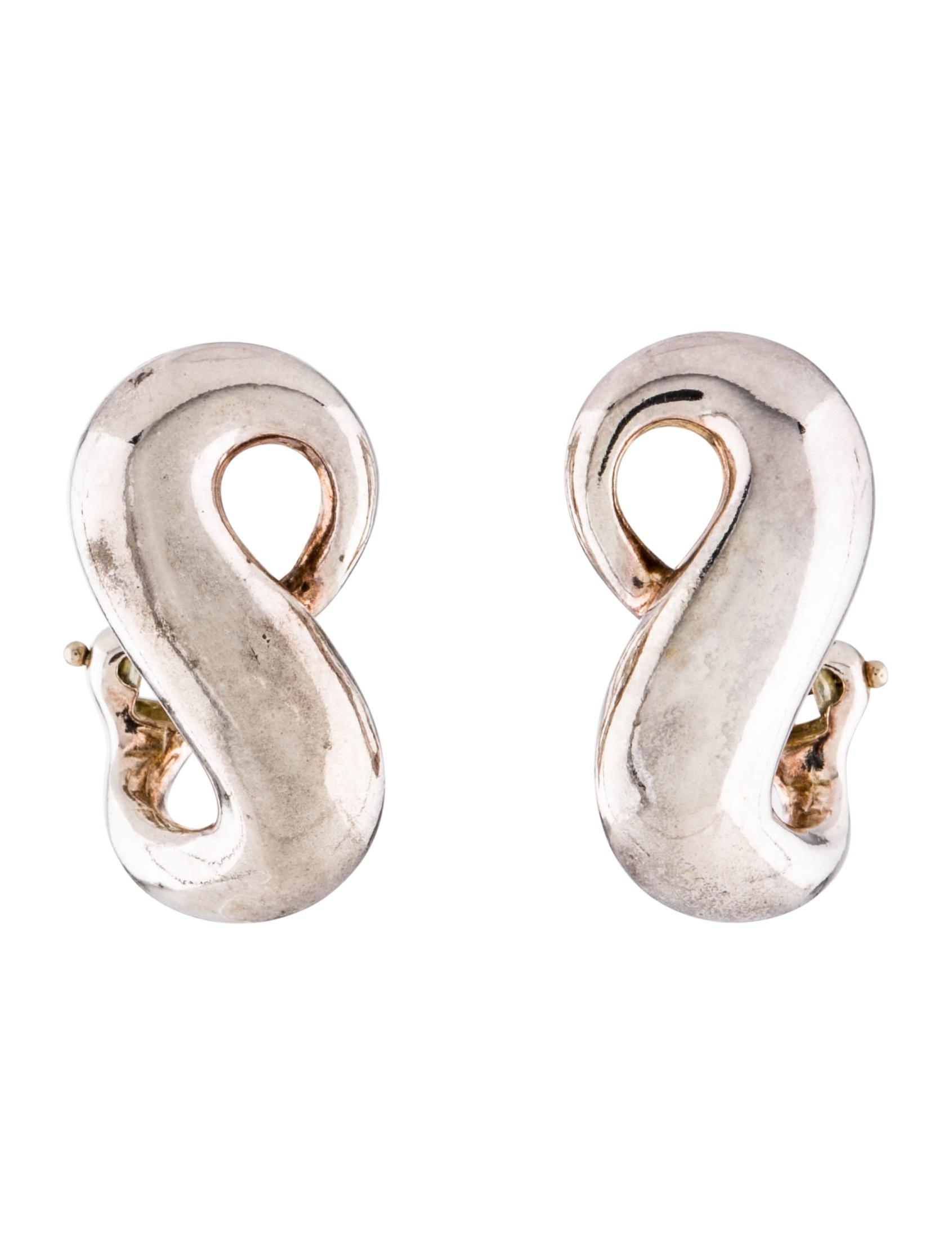 36b46988d Tiffany & Co. Infinity Earclip Earrings - Earrings - TIF76691 | The ...