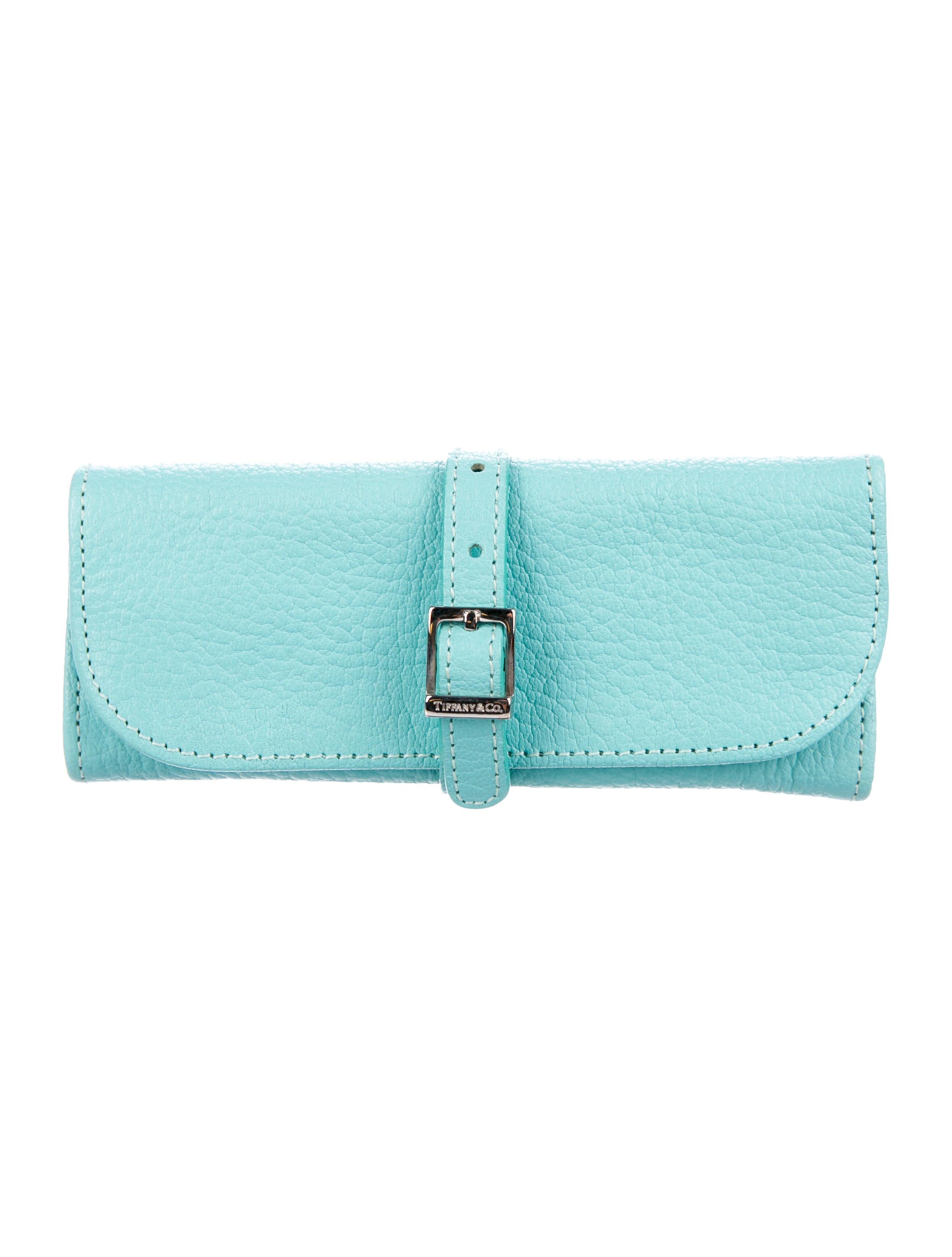 de4b484e5ed Tiffany   Co. Leather Jewelry Roll Case - Accessories - TIF77779 ...