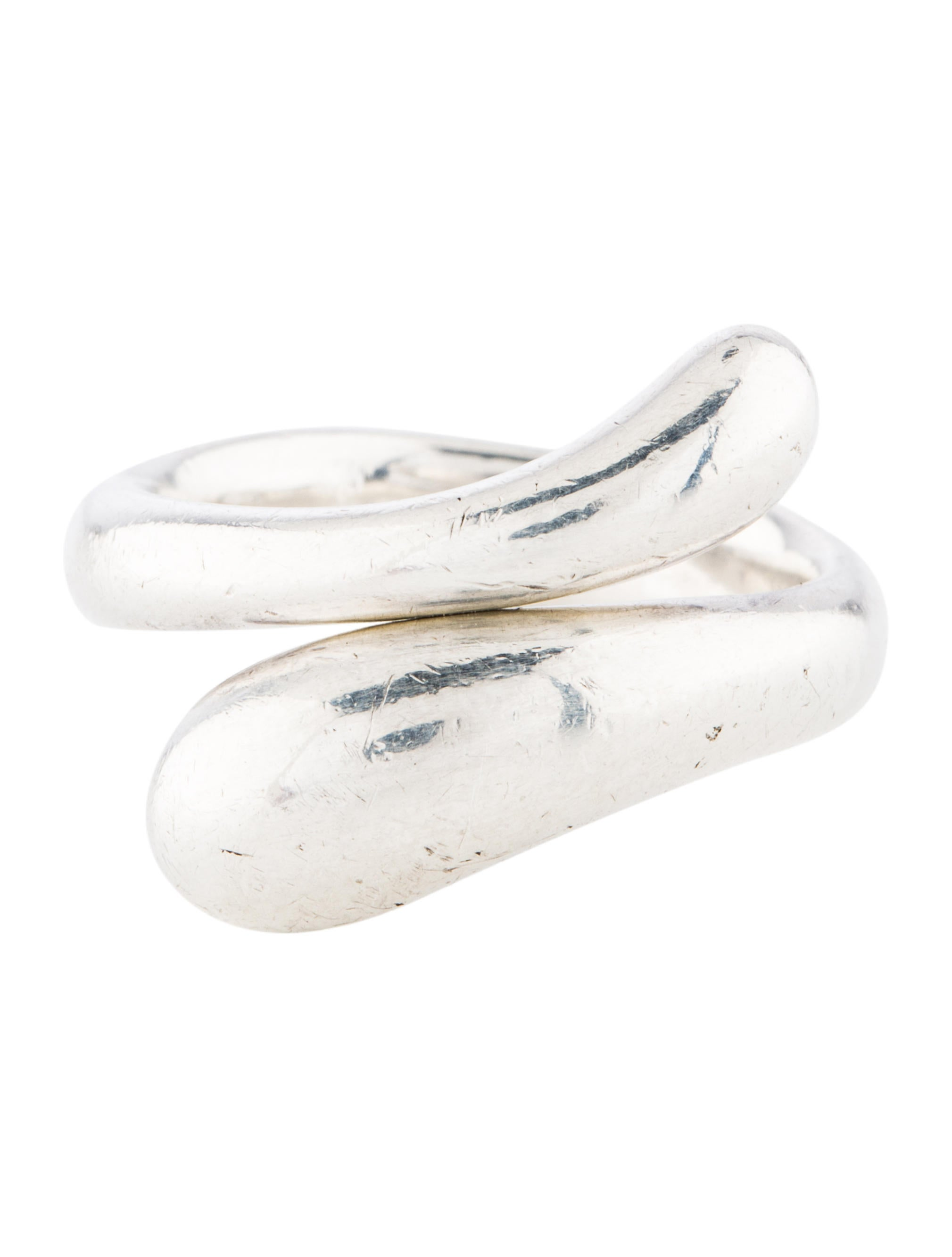 Tiffany Amp Co Teardrop Ring Rings Tif77789 The Realreal