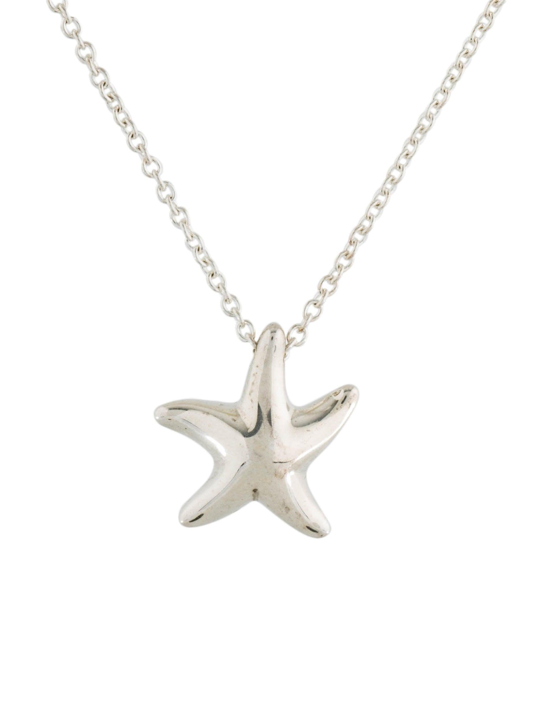 Tiffany co starfish pendant necklace necklaces tif78037 the starfish pendant necklace aloadofball Choice Image