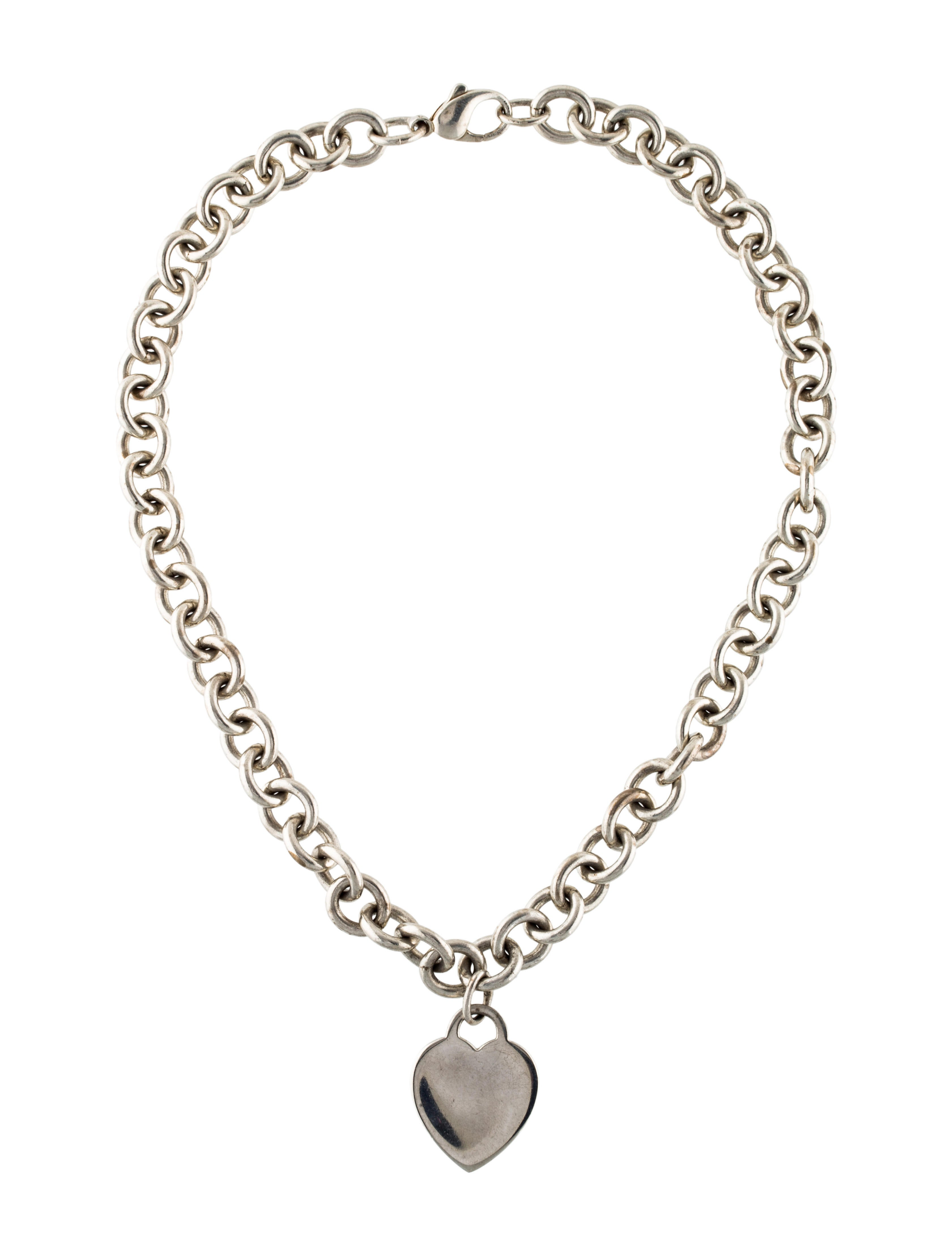 Heart Tag Necklace by Tiffany & Co.