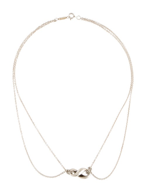 aeff870fbccc Tiffany   Co. Infinity Pendant Necklace - Necklaces - TIF83975
