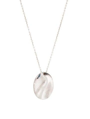25a3eef01 Tiffany & Co. Zodiac Aquarius Pendant Necklace - Necklaces - TIF83976 | The  RealReal